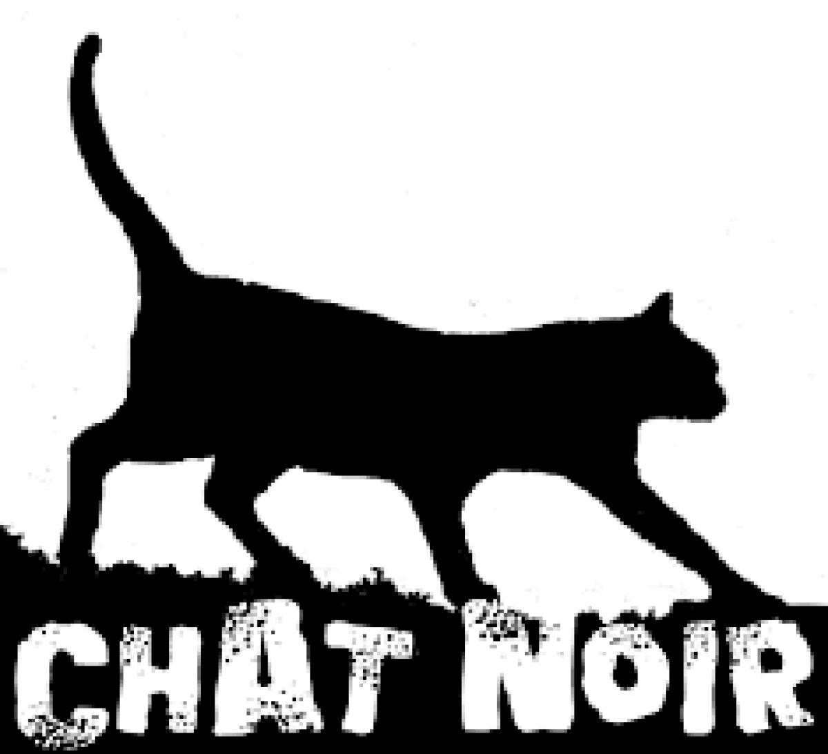 """Logo des Swing-Quartetts """"Chat Noir"""""""