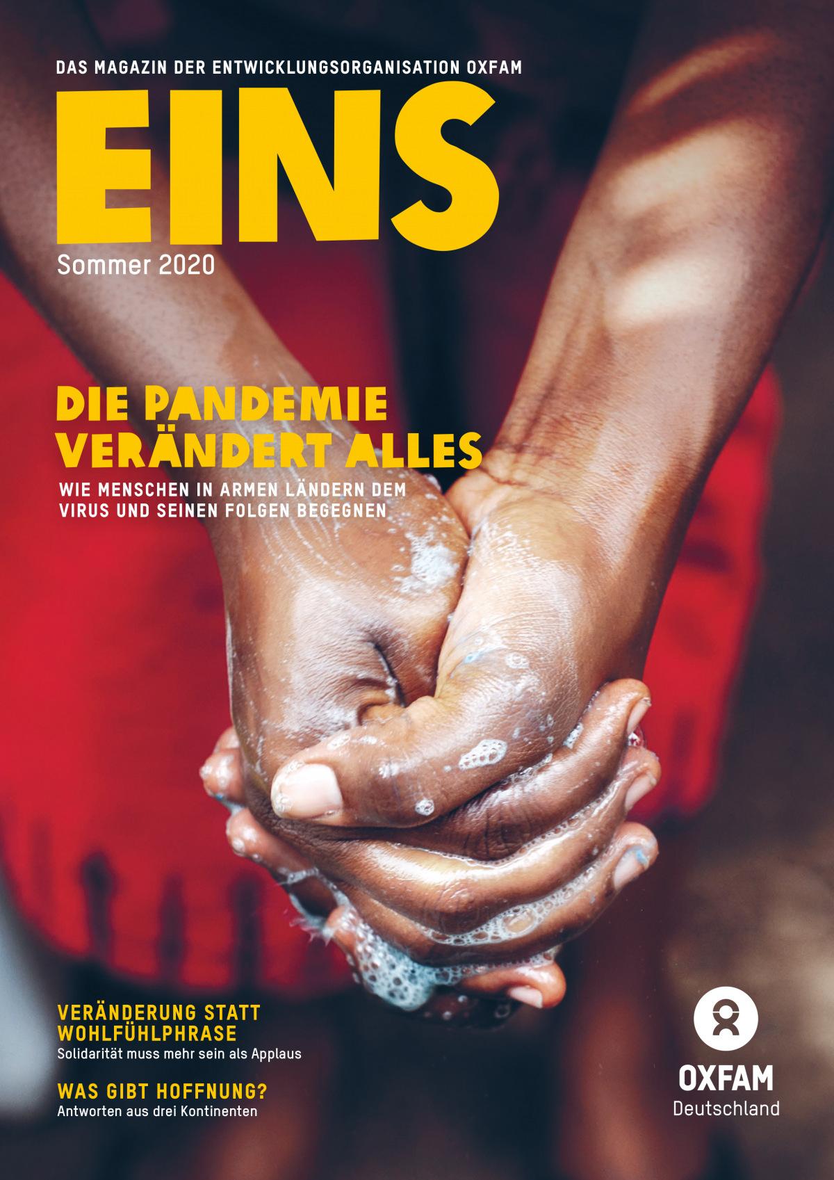 Titelbild der EINS-Sommerausgabe 2020