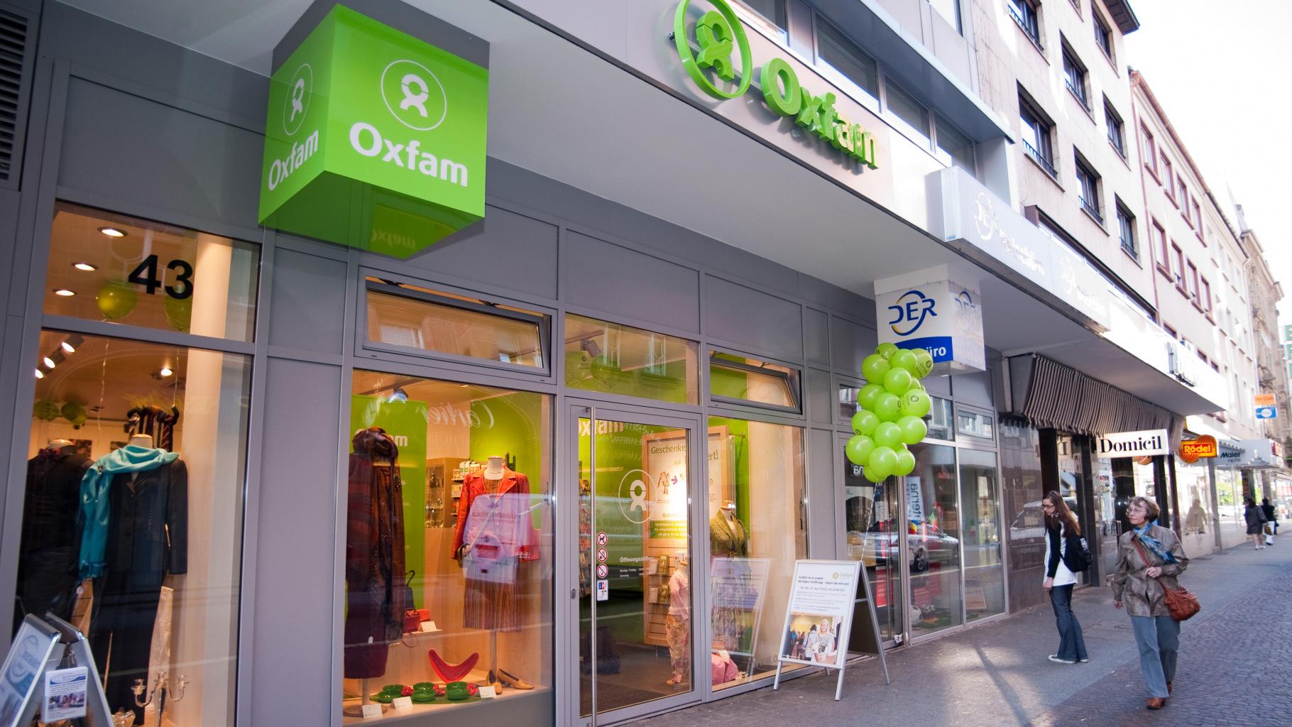 Oxfam Shop Karlsruhe - Außenansicht