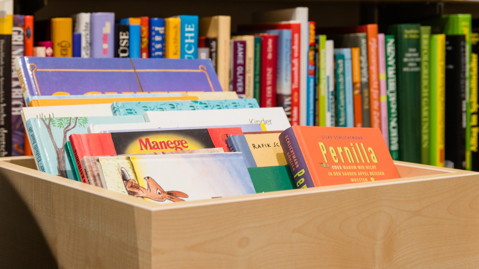 gebrauchte Bücher für Kinder und Jugendliche gibt es im Oxfam Shop