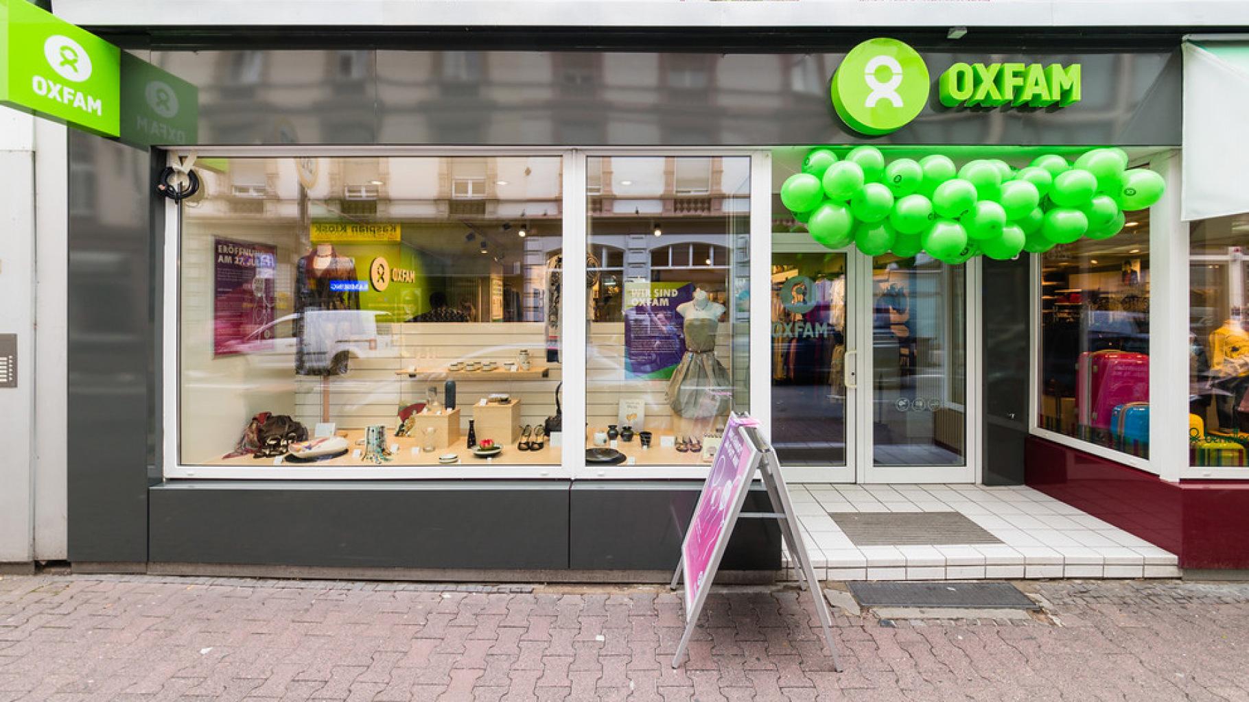 Oxfam Shop Frankfurt-Nordend - Außenansicht