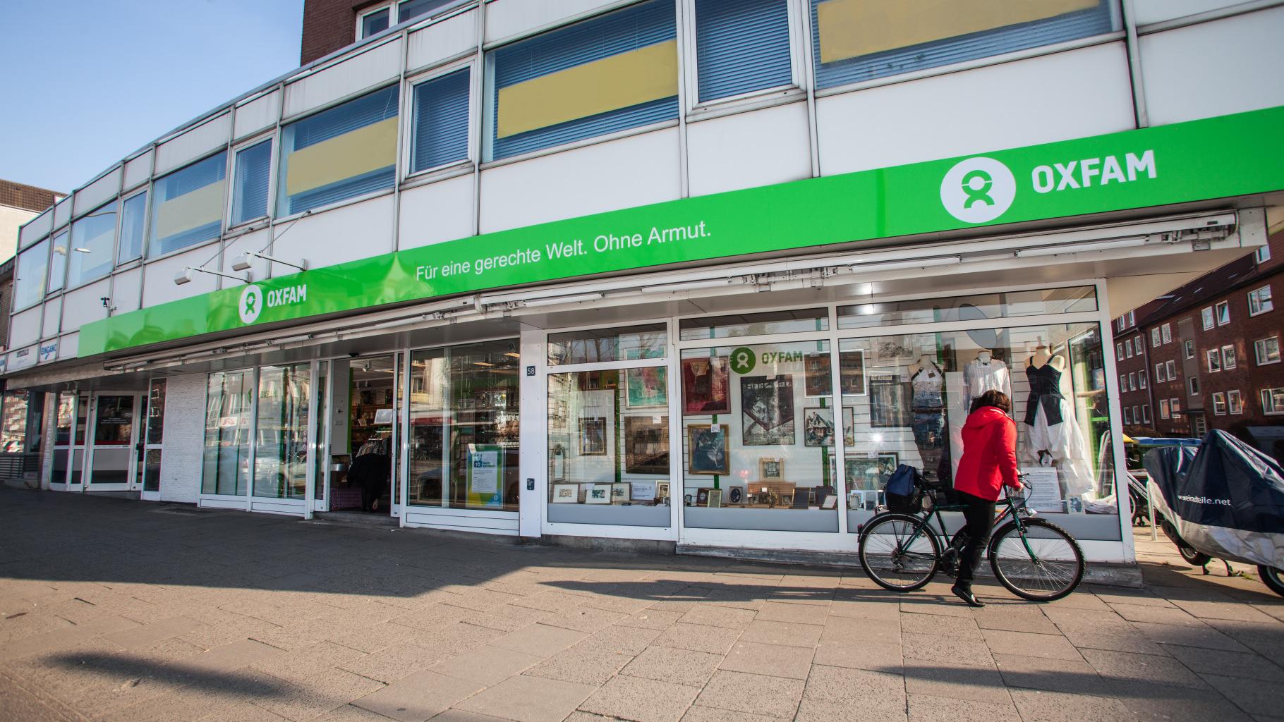Oxfam Shop Hamburg-Hoheluft - Außenansicht