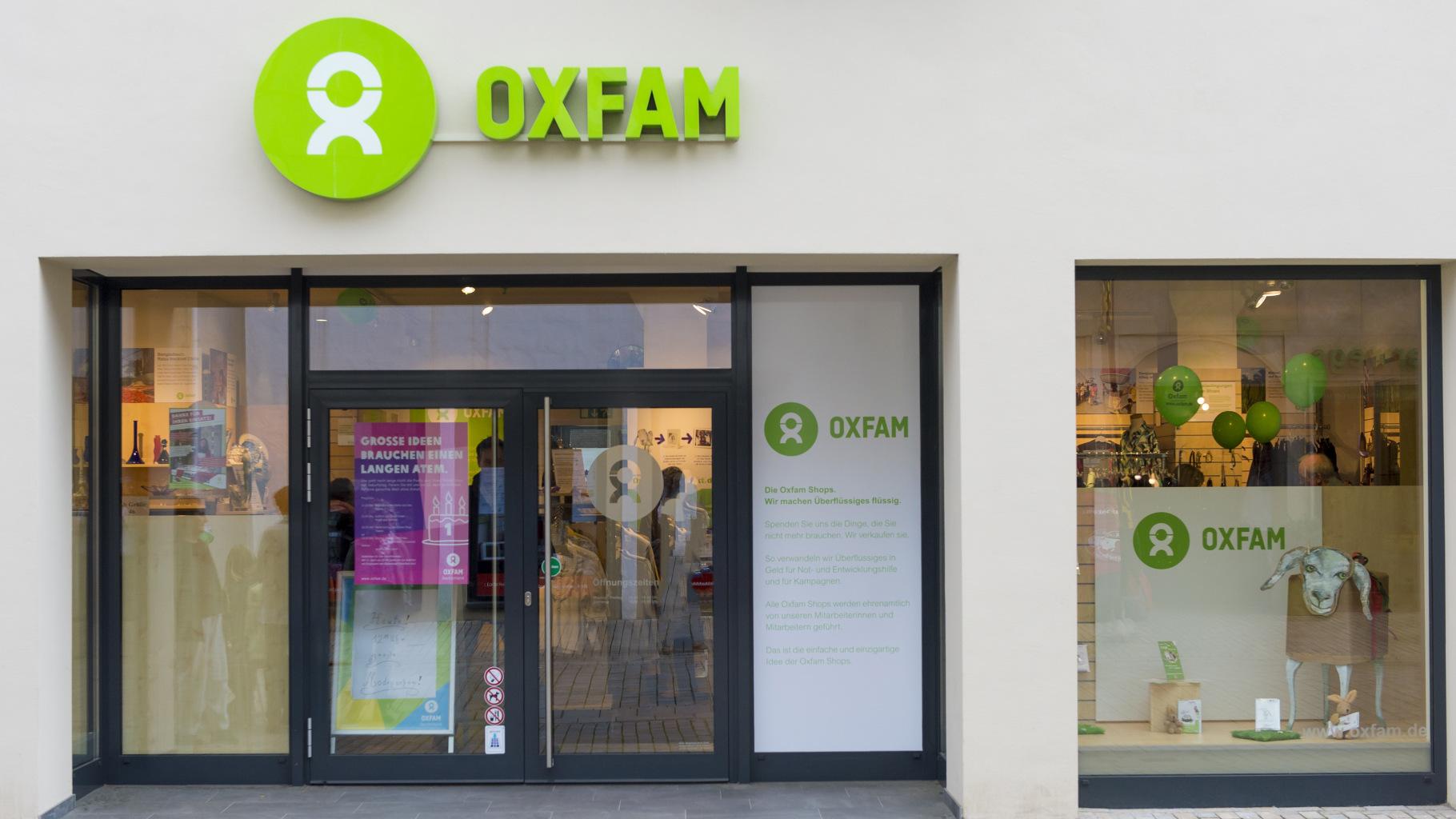Oxfam Shop in Bielefeld