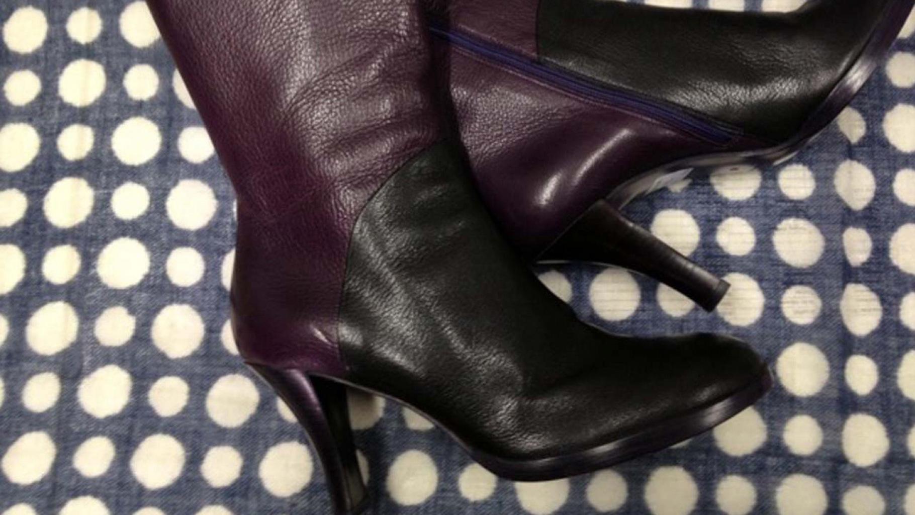 Stiefel und Stiefeletten gibt es im Oxfam Shop.