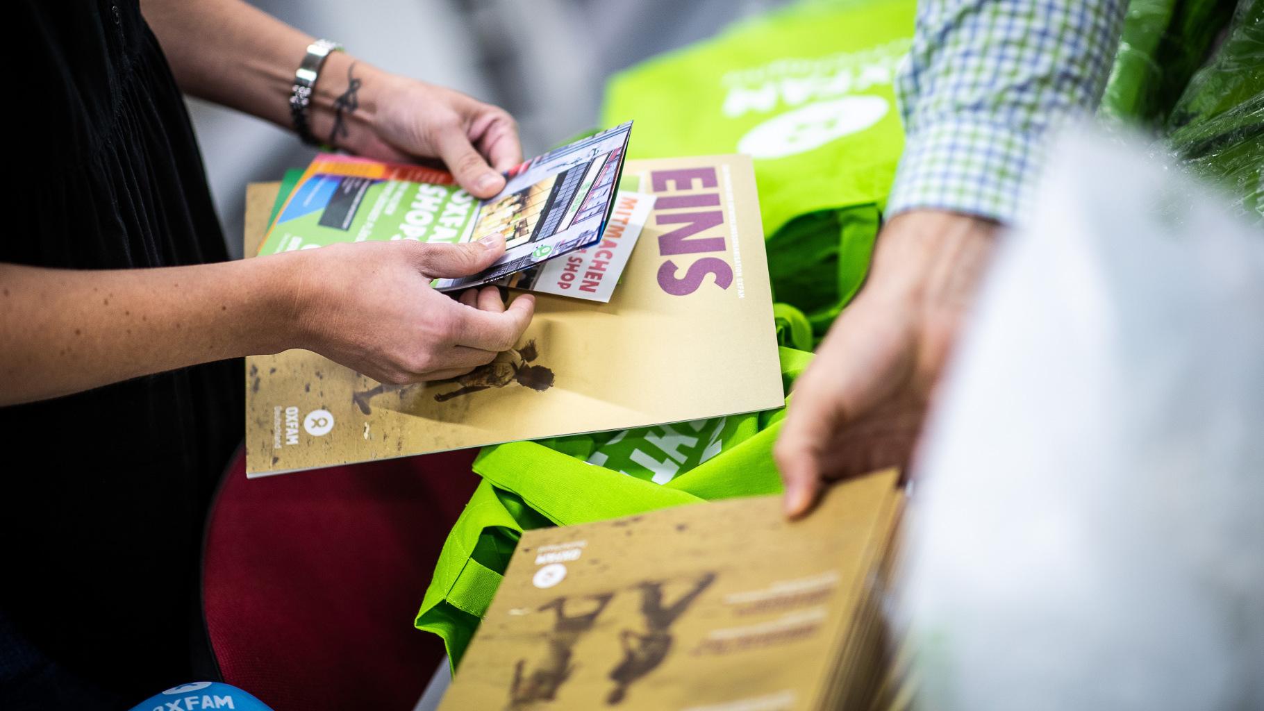 Oxfam-Magazin EINS