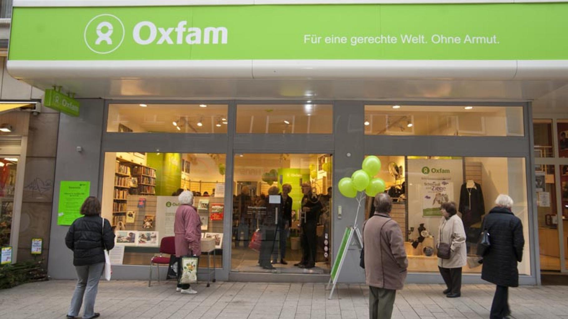 Oxfam Shop Dortmund - Außenansicht