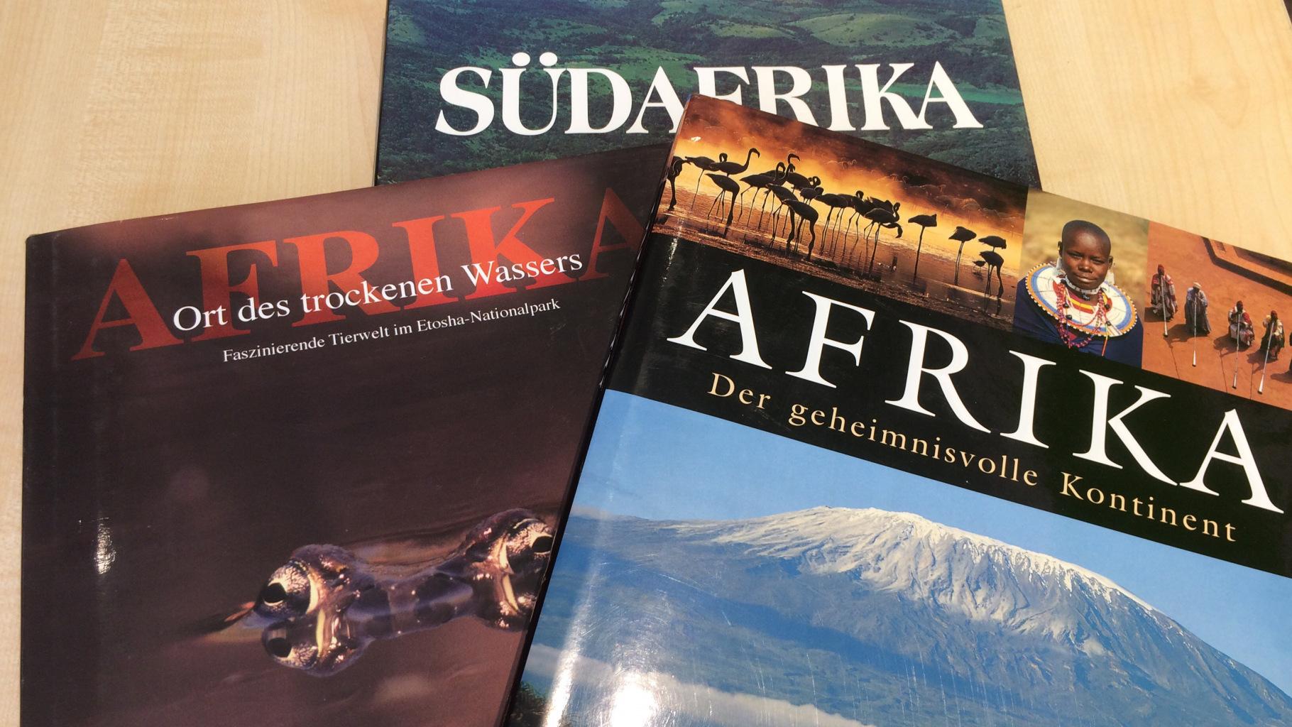 Bücher zum Thema Afrika im Oxfam Shop