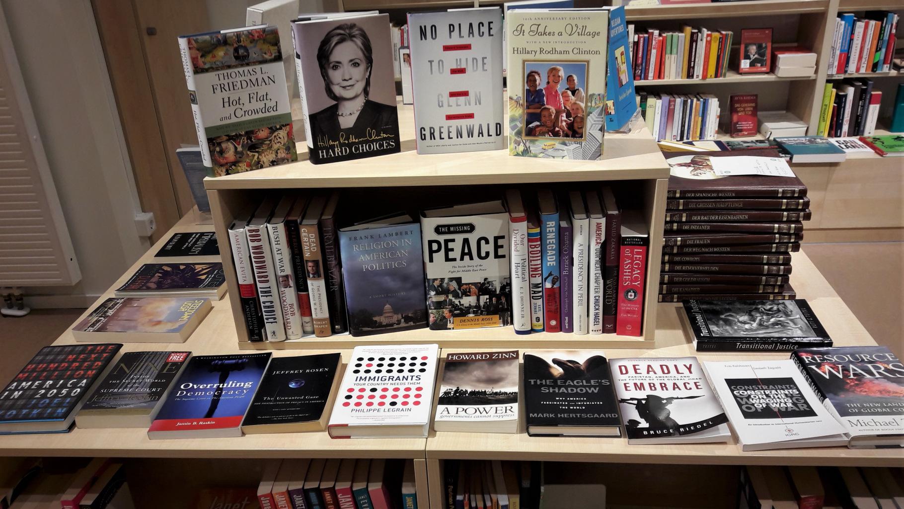 englischsprachige Bücher im Oxfam Shop