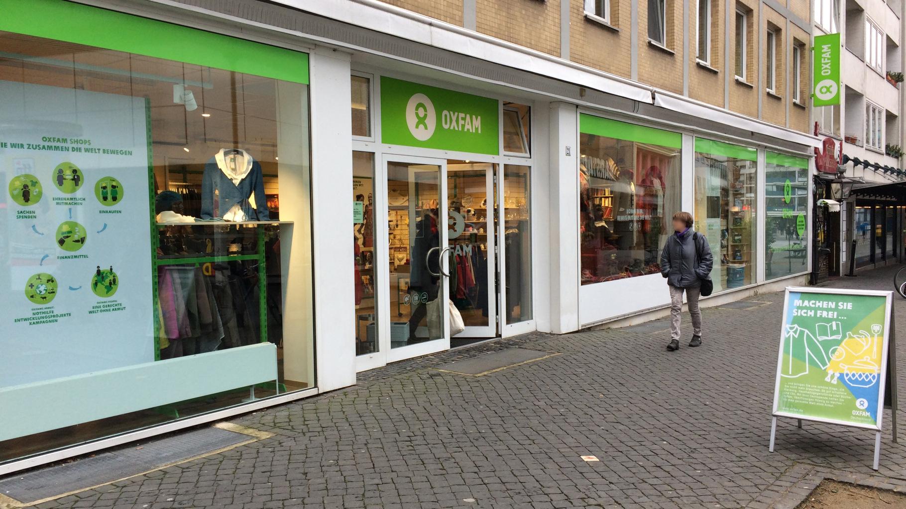 Oxfam Shop Braunschweig - Außenansicht