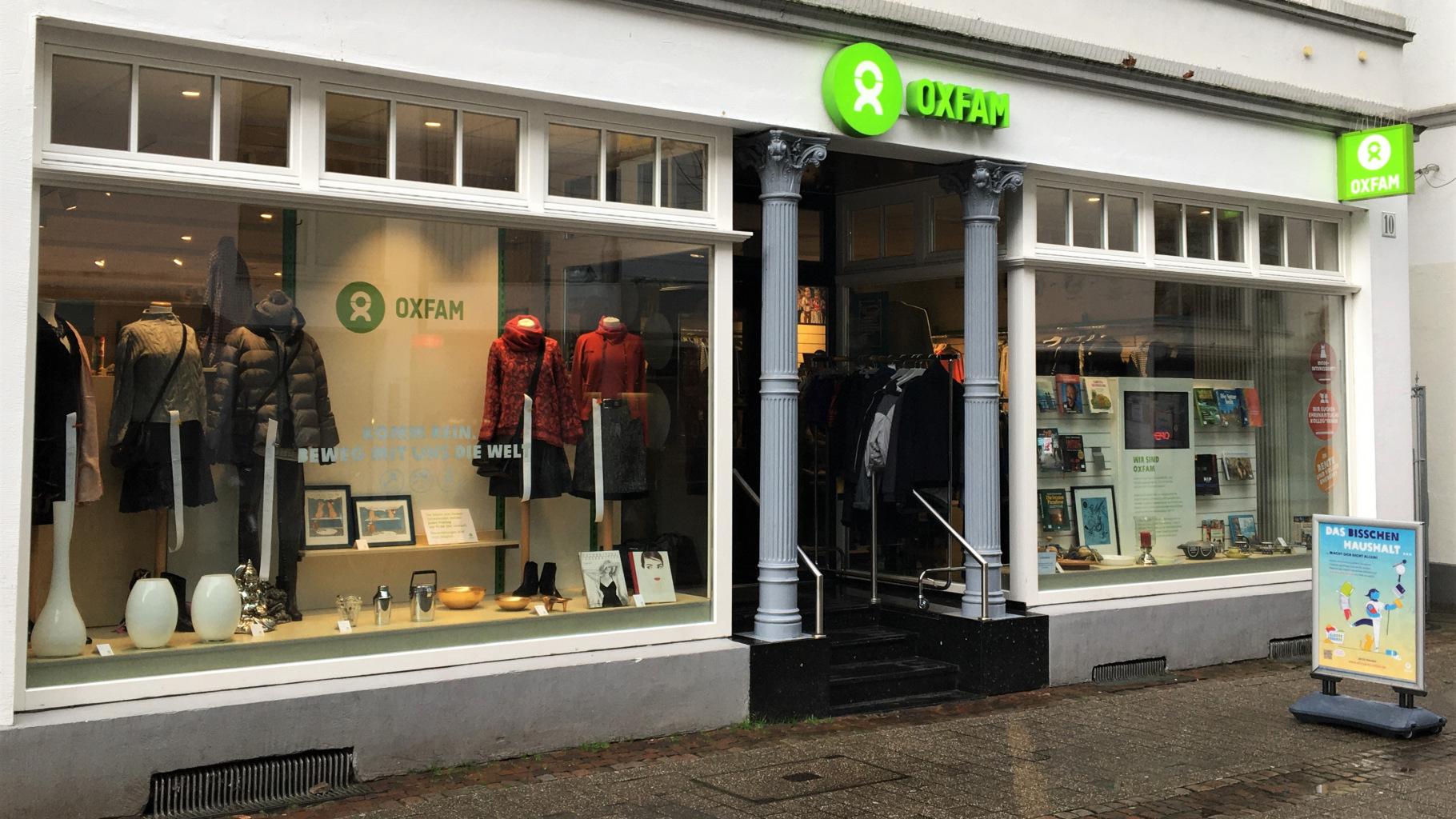 Oxfam Shop Oldenburg - Außenansicht