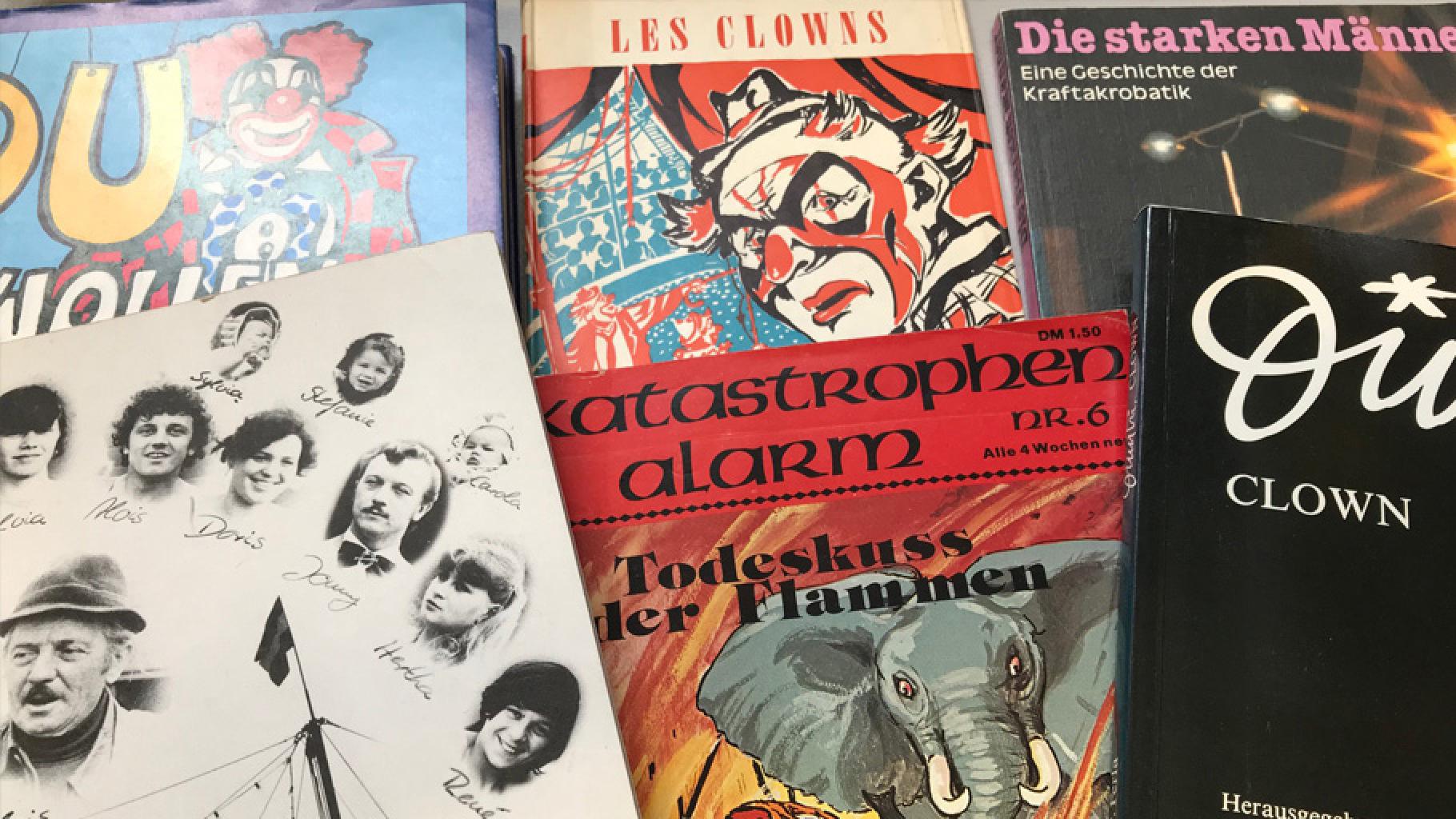 Bücher zum Thema Zirkus, Clowns und Artistik