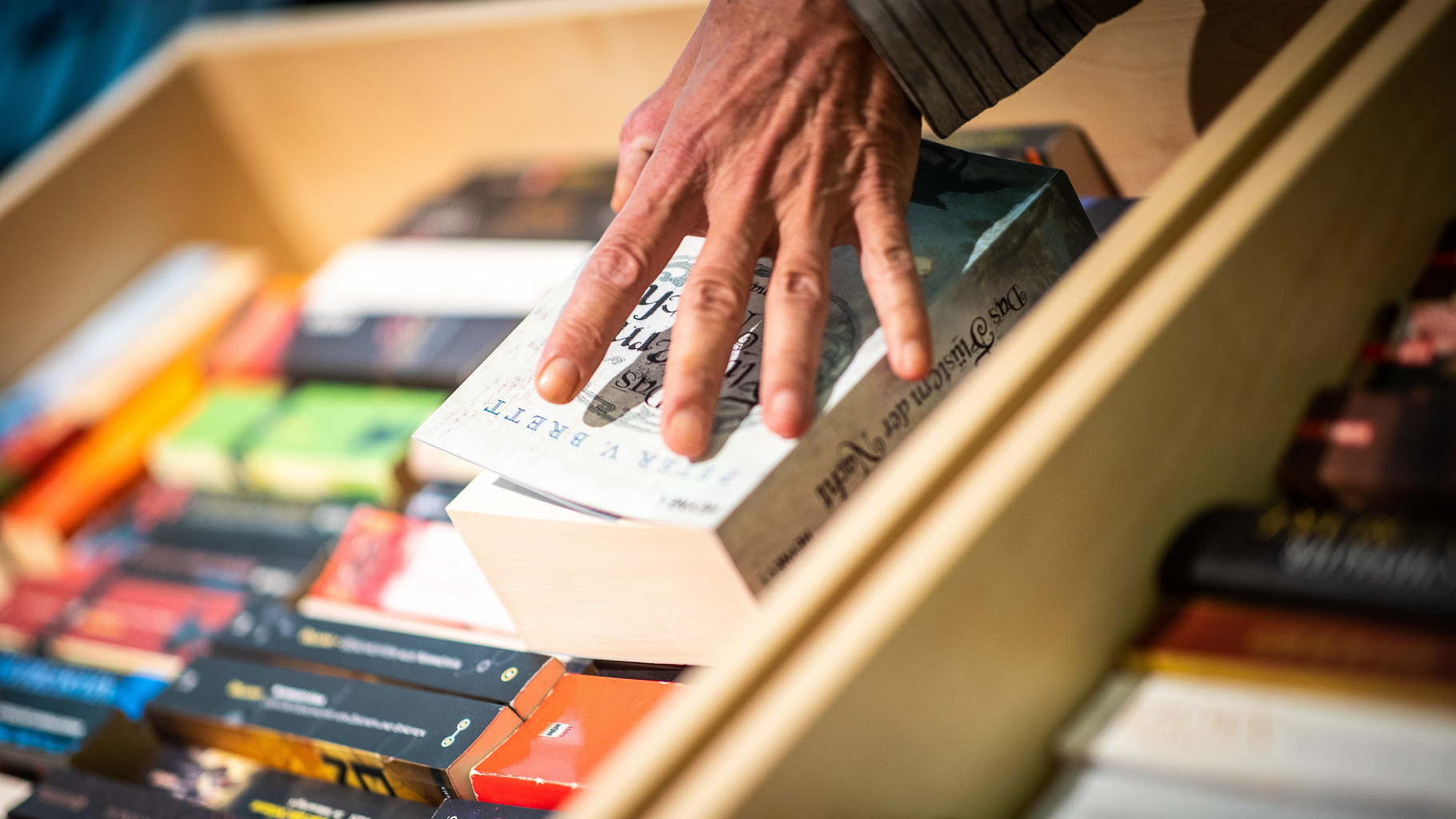 Bücher im Oxfam Buchshop