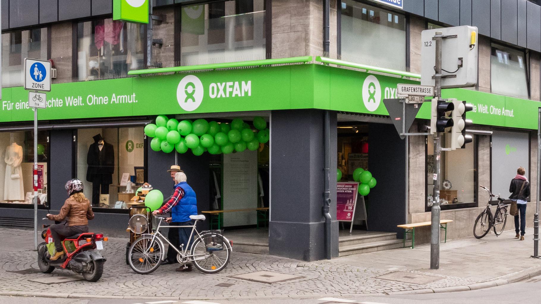 Oxfam Shop Darmstadt - Außenansicht
