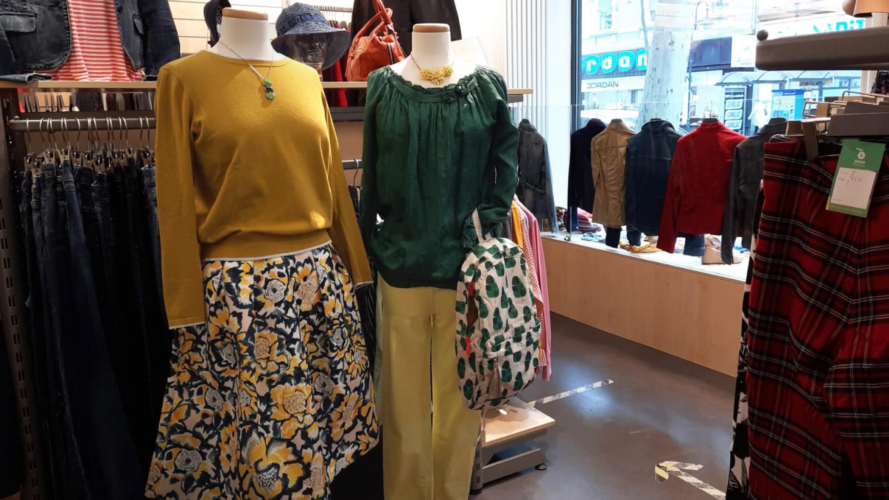 Designer- und Markenkleidung im Oxfam Shop