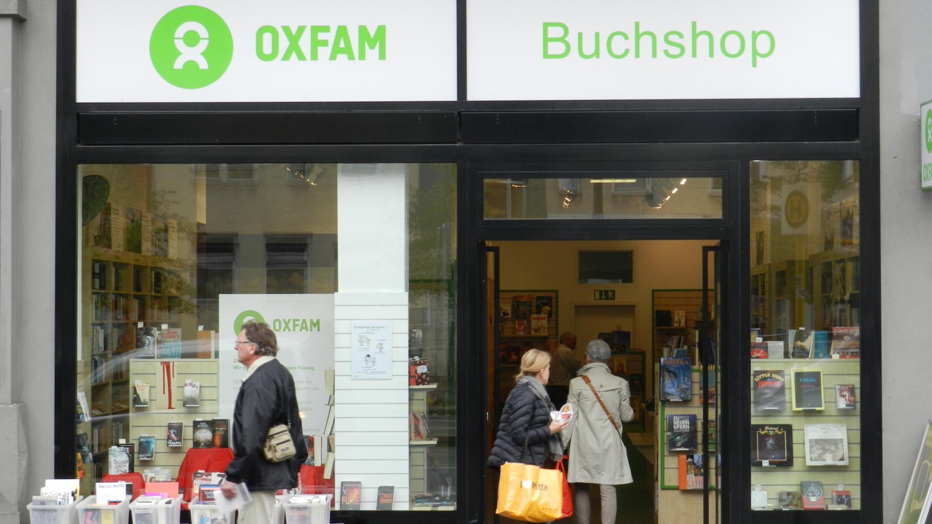 Oxfam Buchshop Berlin-Schöneberg - Außenansicht