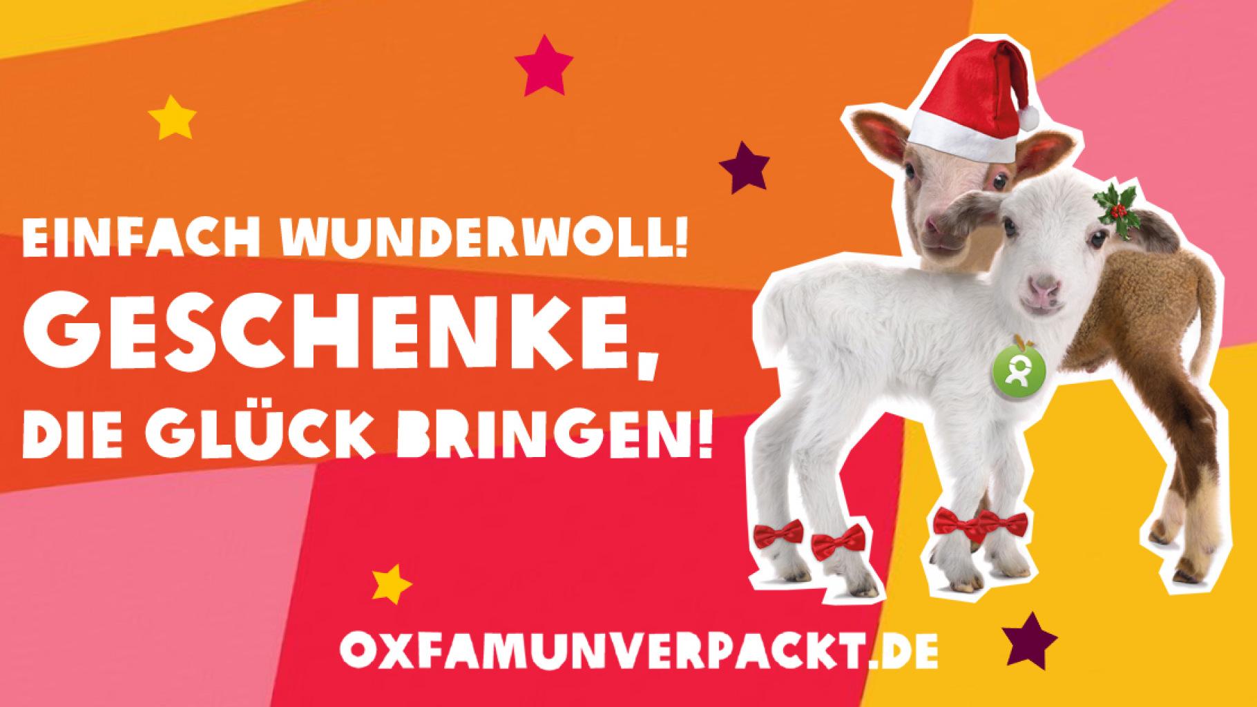 OxfamUnverpackt: Wunderwolle Weihnachten