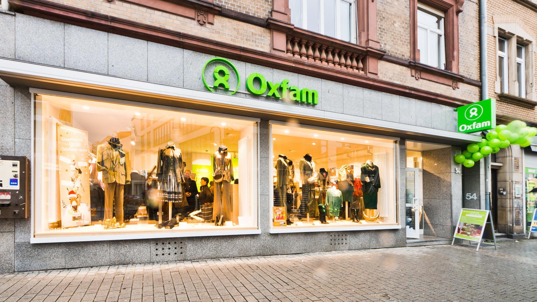 Oxfam Shop Frankfurt-Bockenheim - Außenansicht