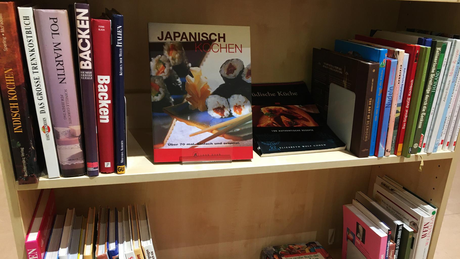Bücher zum Thema Kochen und Backen im Oxfam Shop