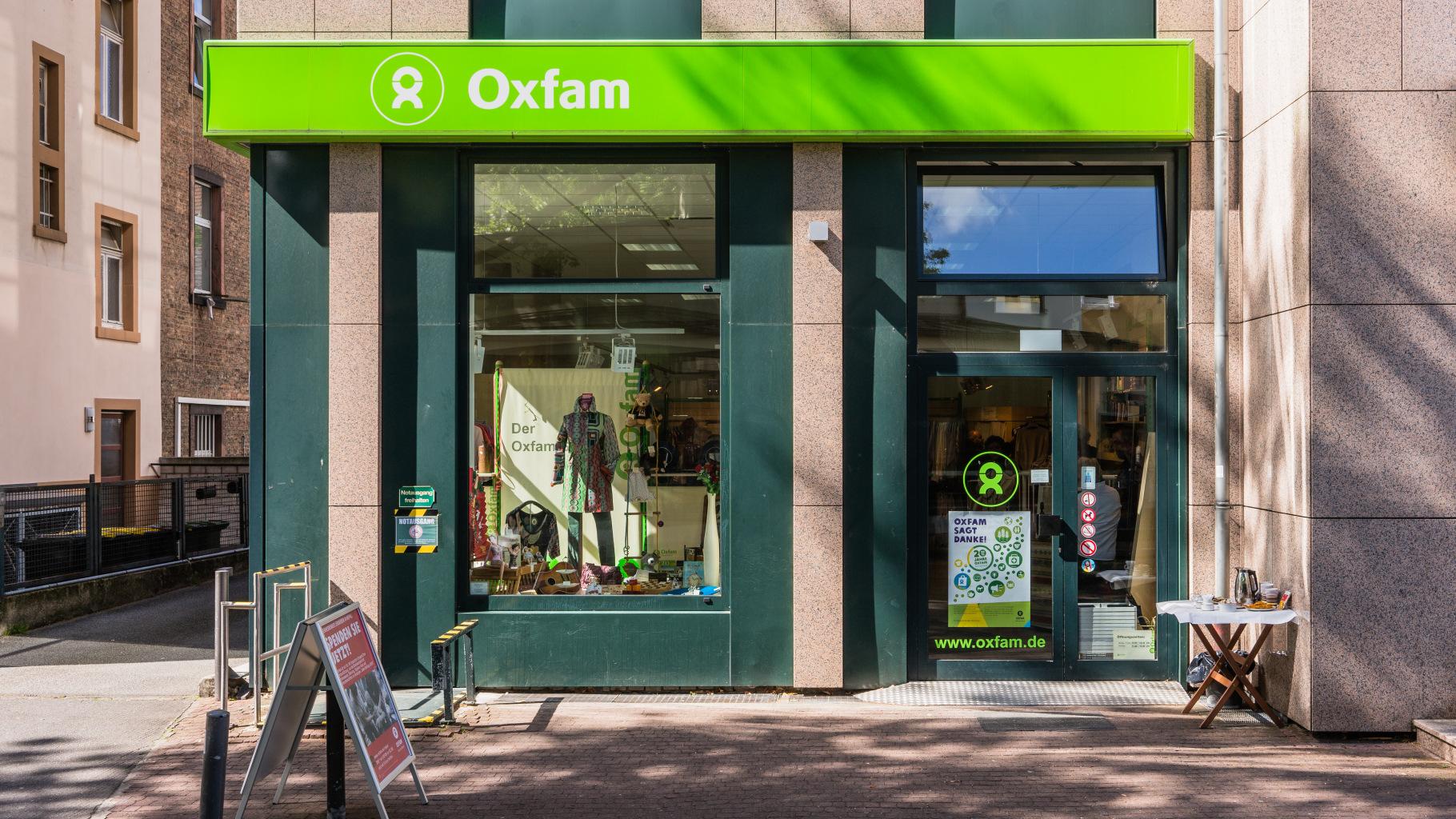 Oxfam Shop Frankfurt-Bornheim - Außenansicht