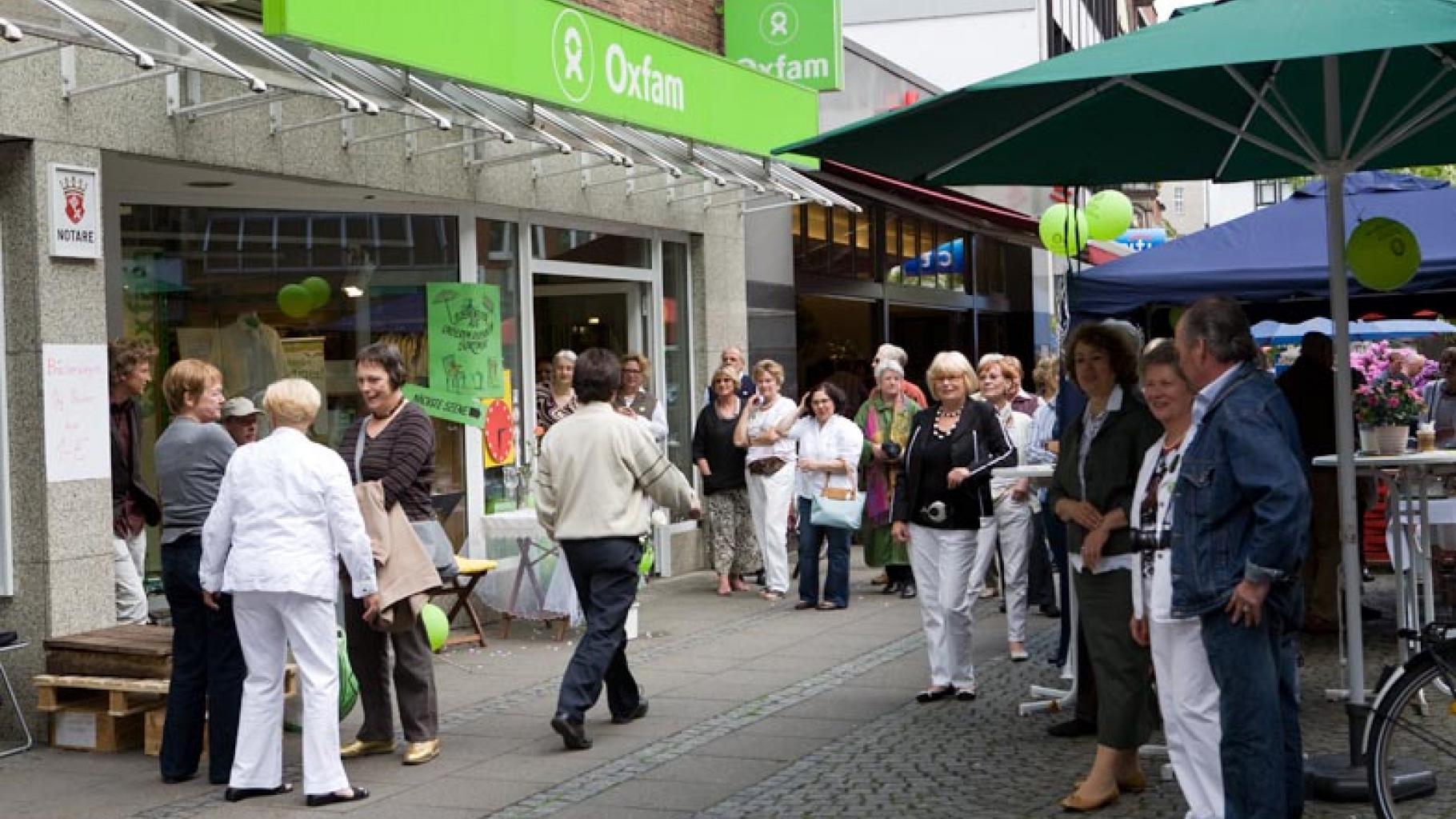 Oxfam Shop Bremen - Außenansicht