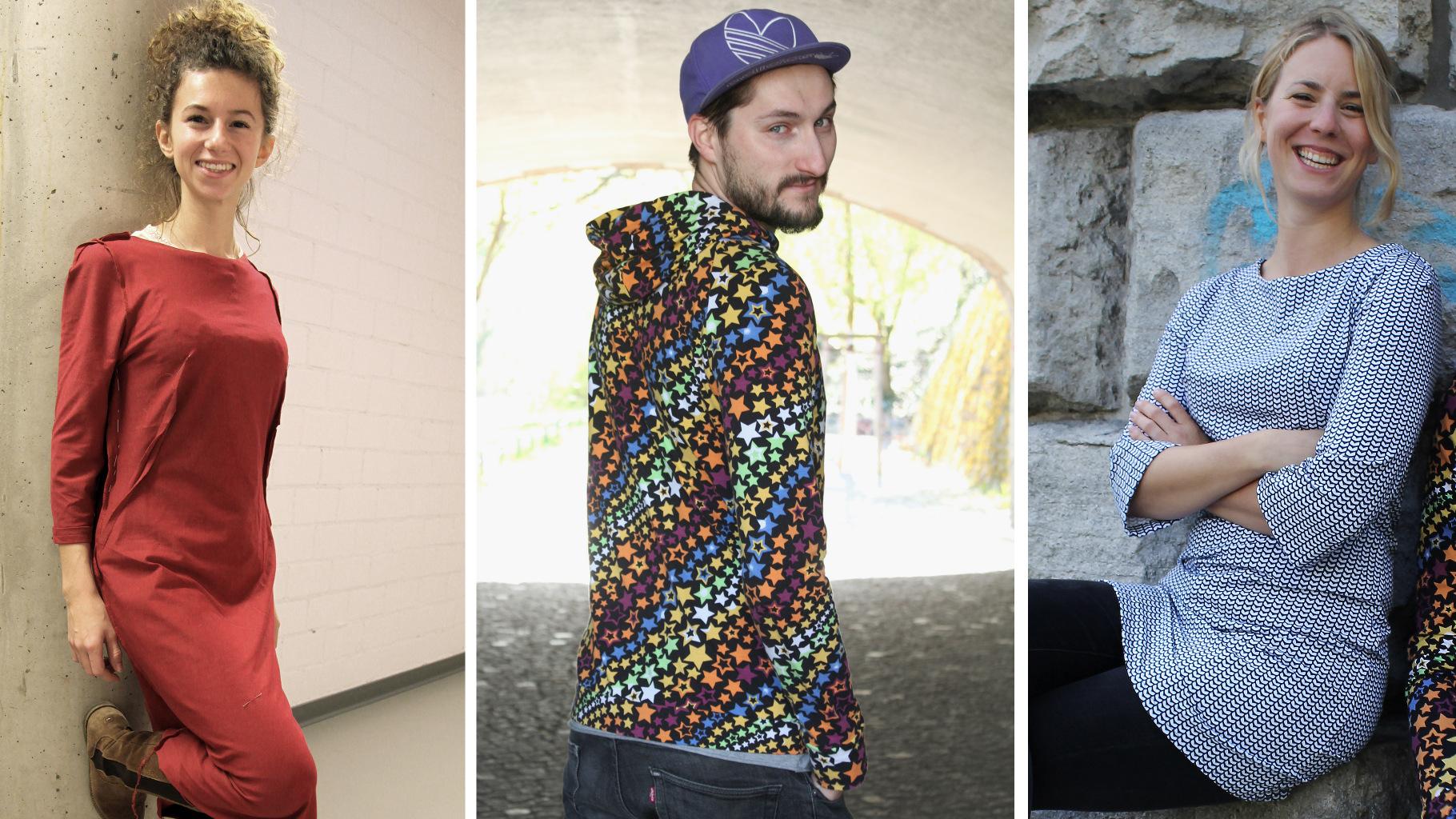 """Studierende des Bereichs """"Mode und Textil"""" an der TU Berlin zeigen alltagstaugliche Mode, die biologisch abbaubar ist."""