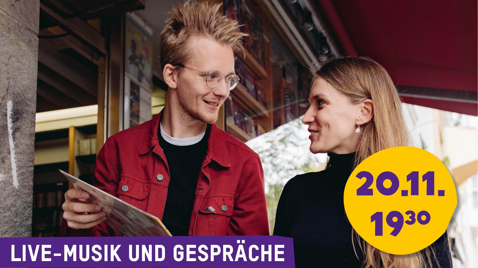 Hauke Renken und Johanna Bastian (v.l.)