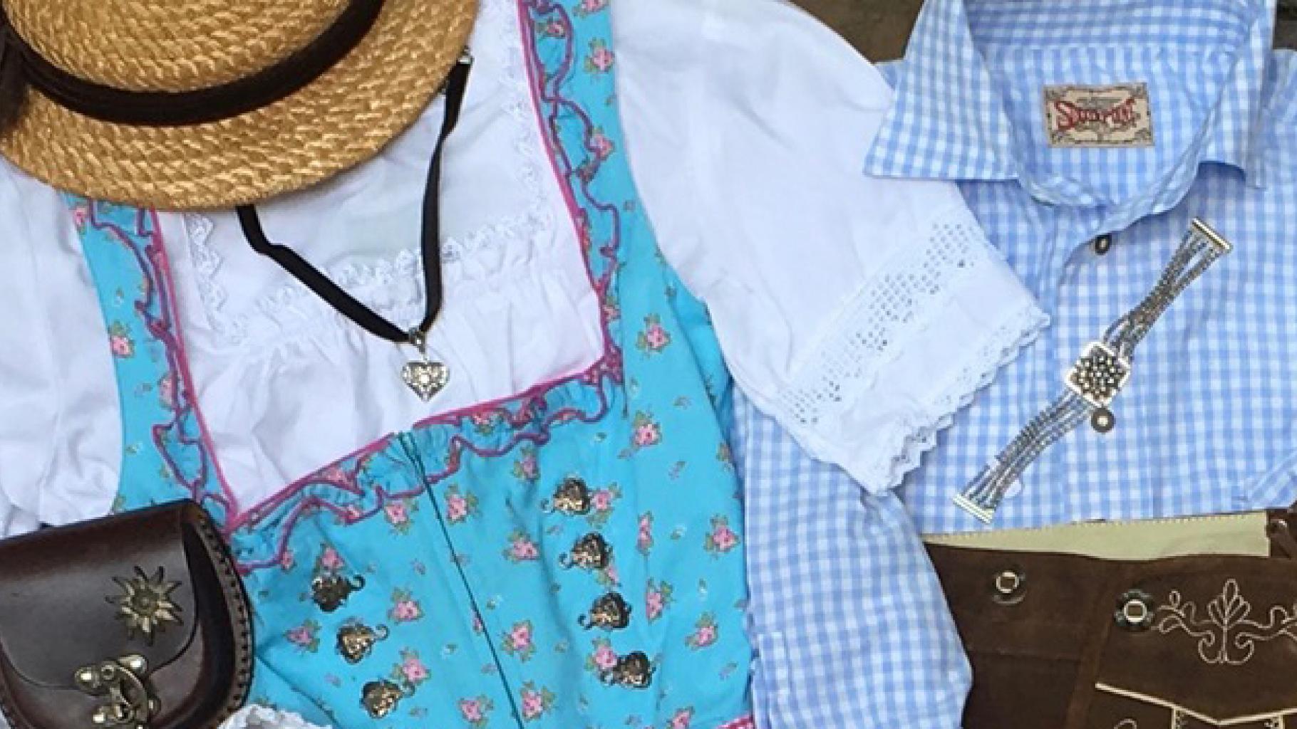 Outfits für die Wiesn gibt es im Oxfam Shop
