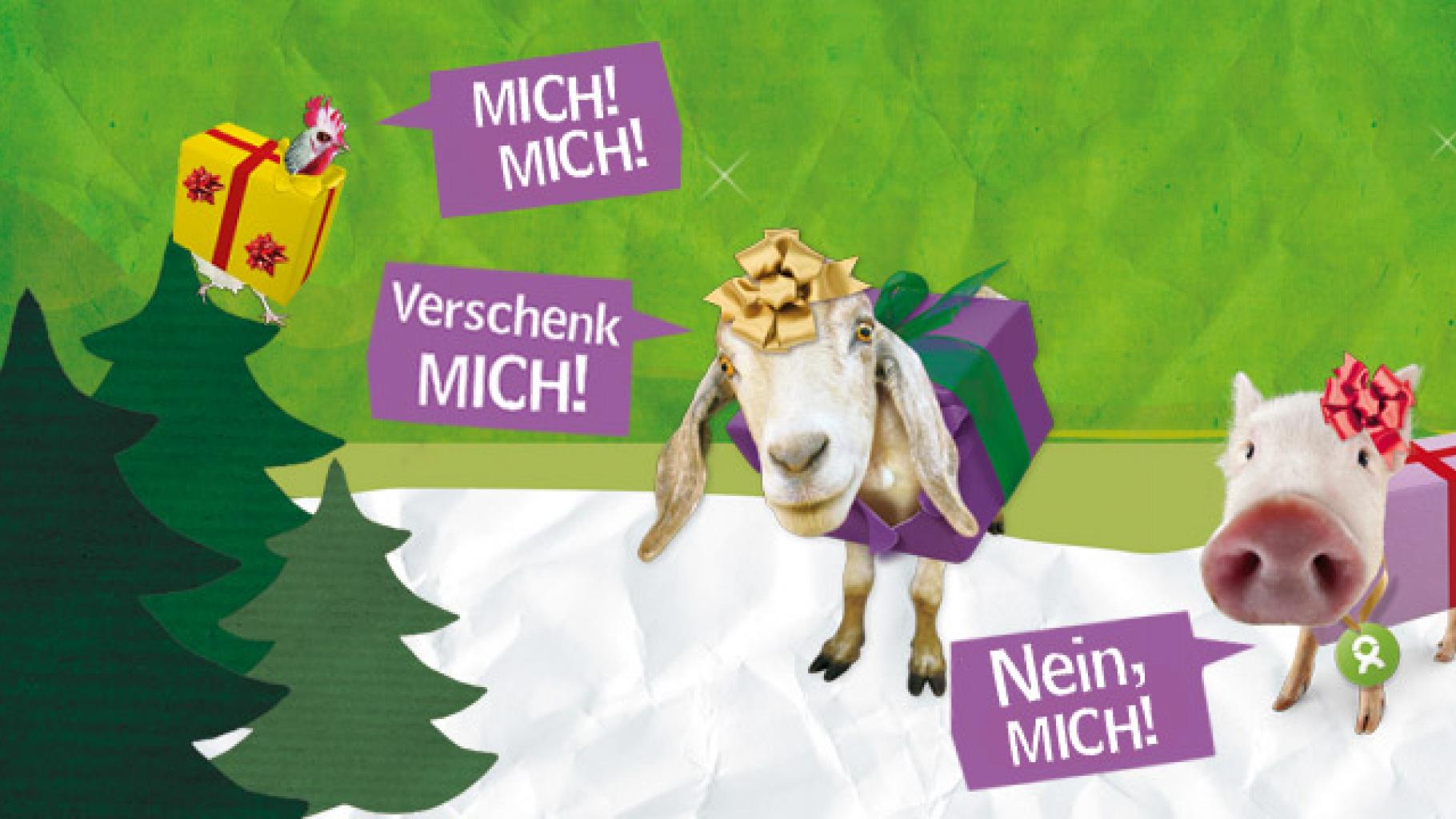 Weihnachtsgeschenke von OxfamUnverpackt