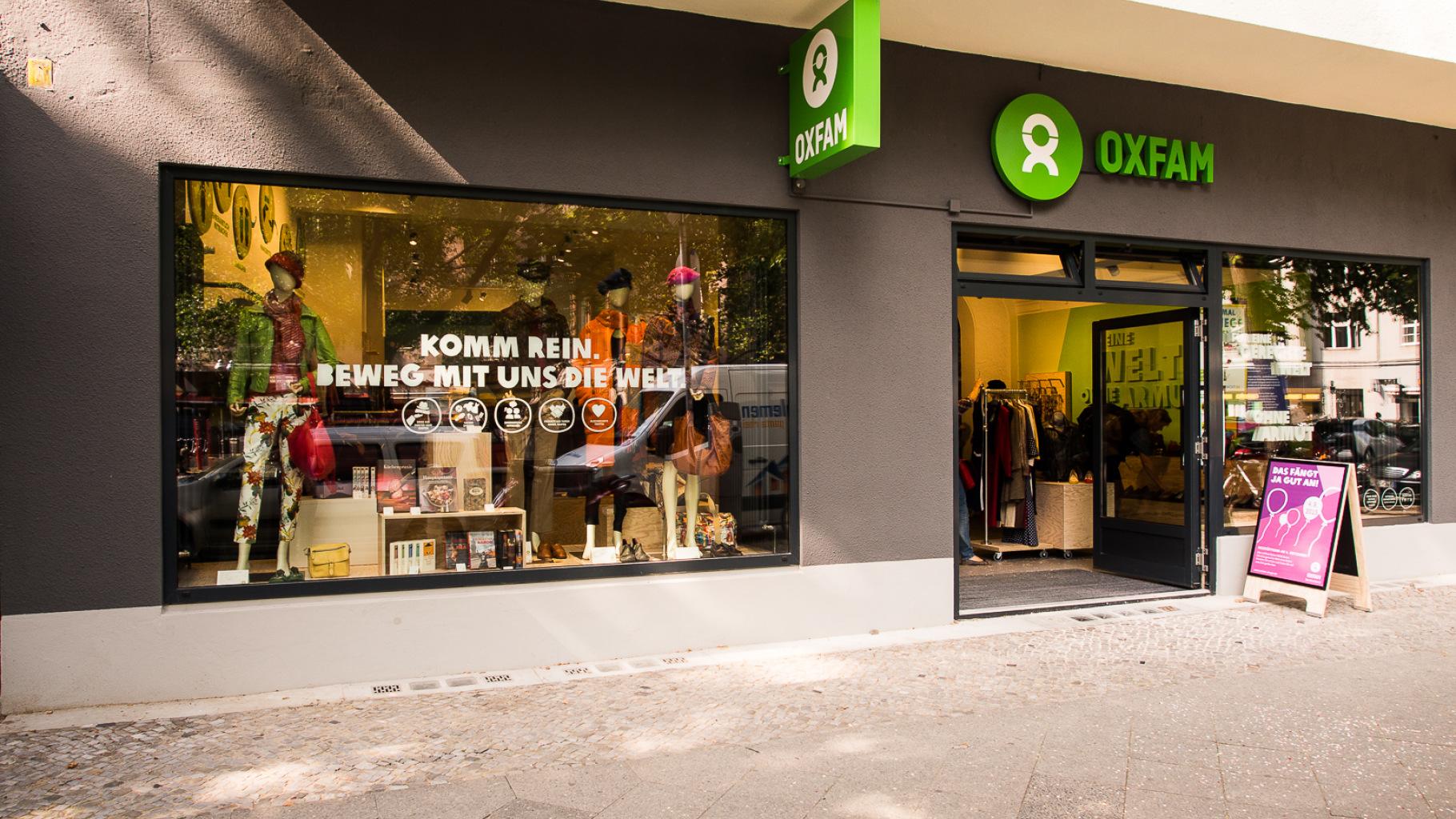 Oxfam MOVE Berlin - Außenansicht