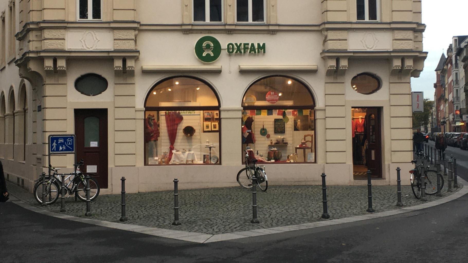 Oxfam Shop Mainz - Außenansicht