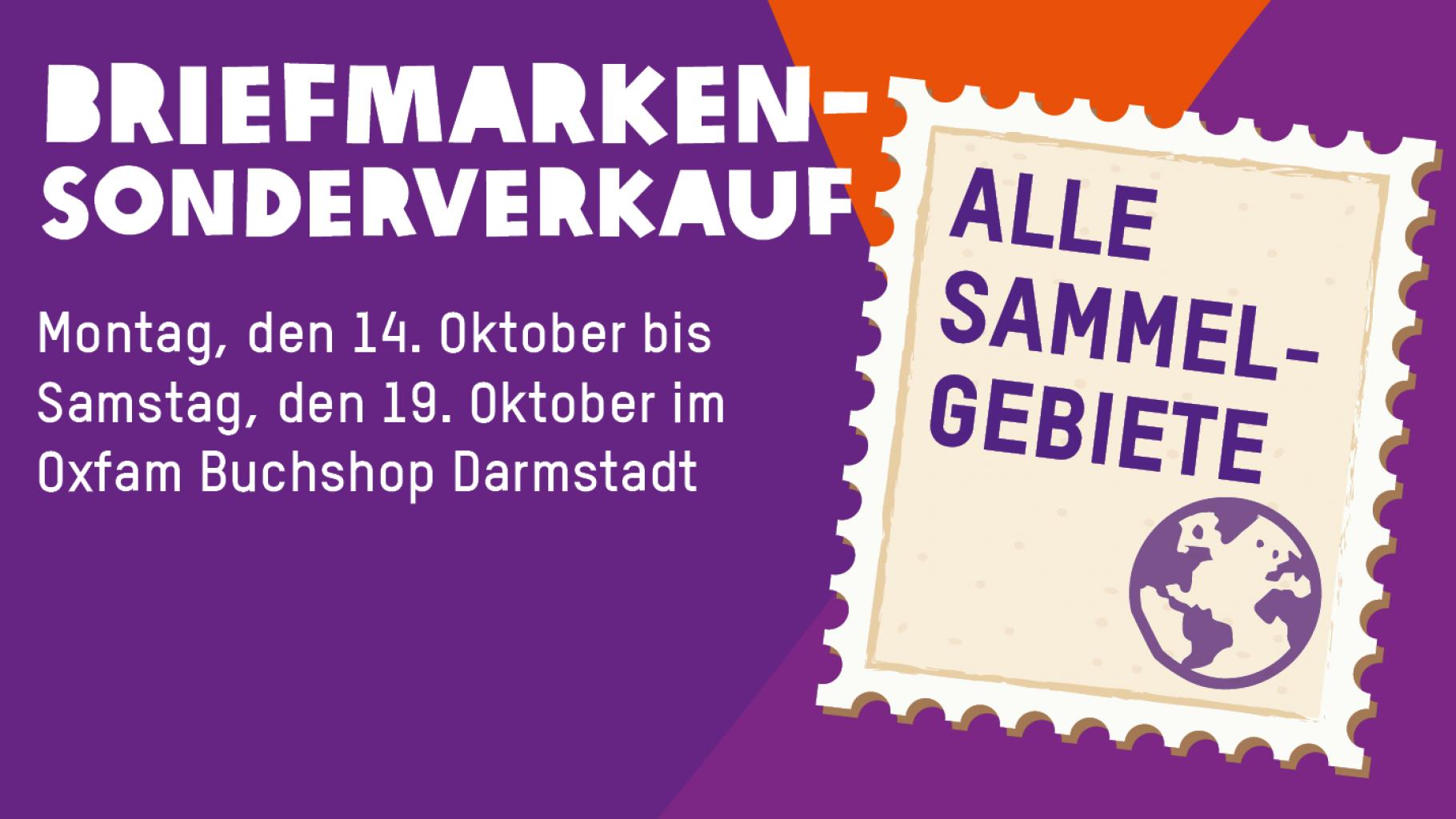 Briefmarken-Sonderverkauf Darmstadt