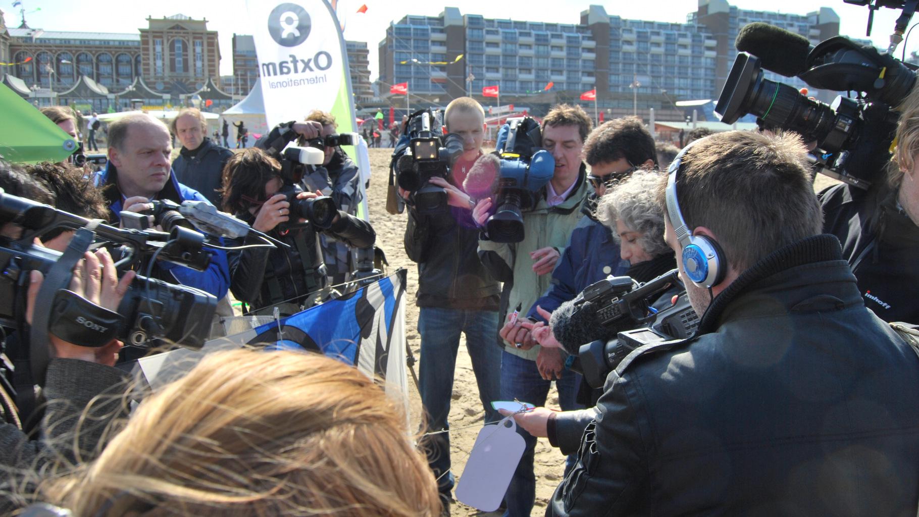 Oxfam-Aktion Kites for Afghanistan