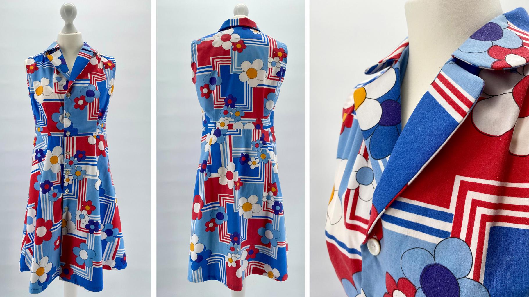 Upcycling-Liebling: Retro-Kleid von Amaran Creative