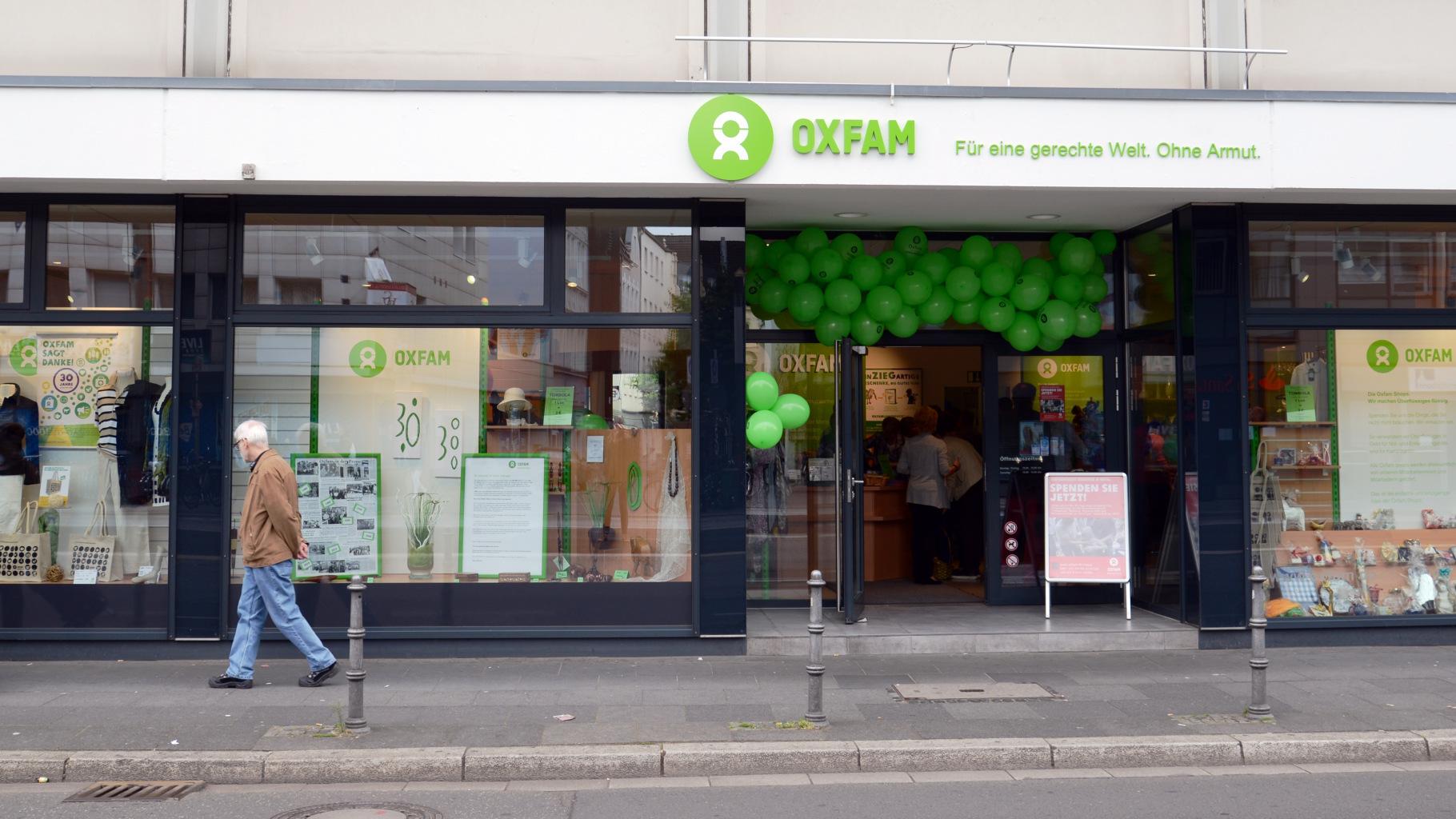 Oxfam Shop Bonn - Außenansicht