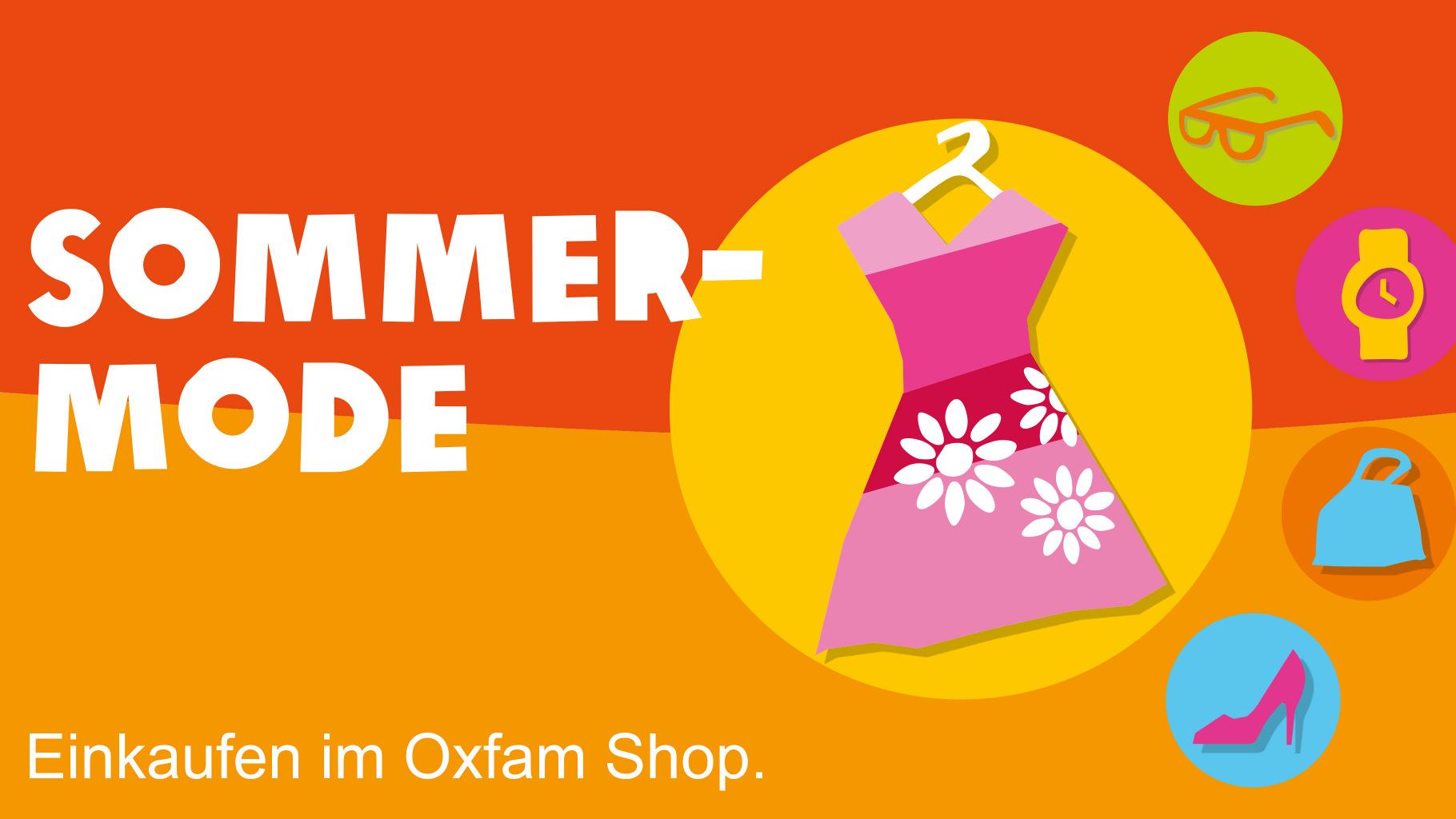 Sommermode gibt es im Oxfam Shop