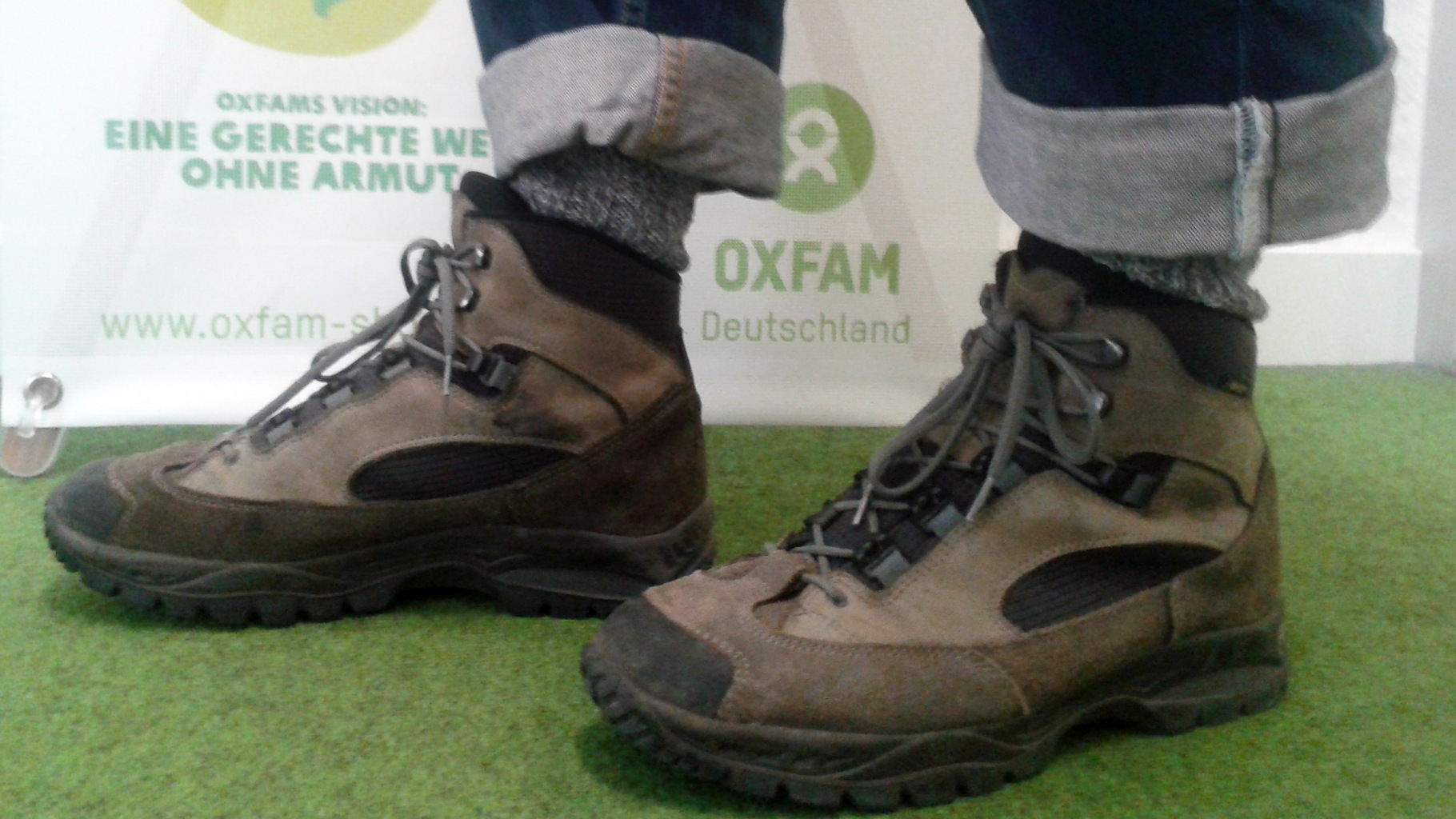 Wanderschuhe Oxfam Shop