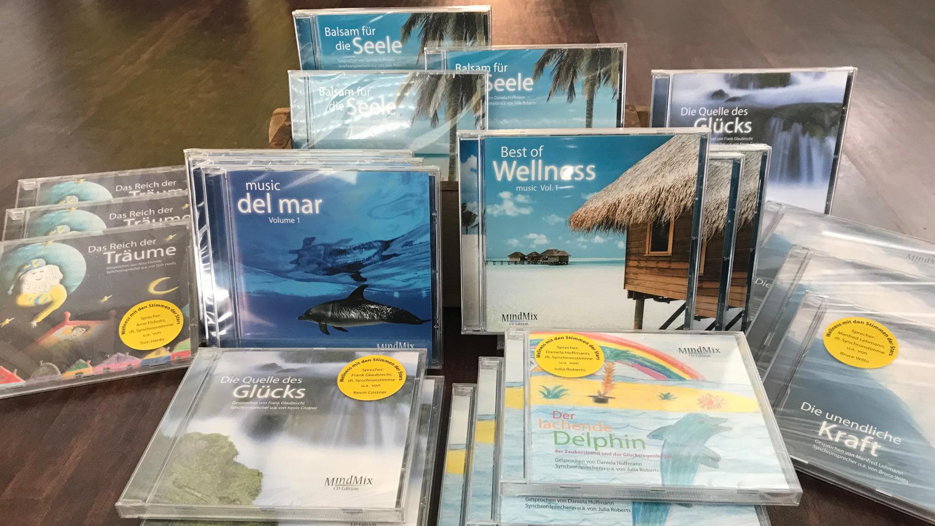 CDs zum Entspannen, Träumen und Motivieren