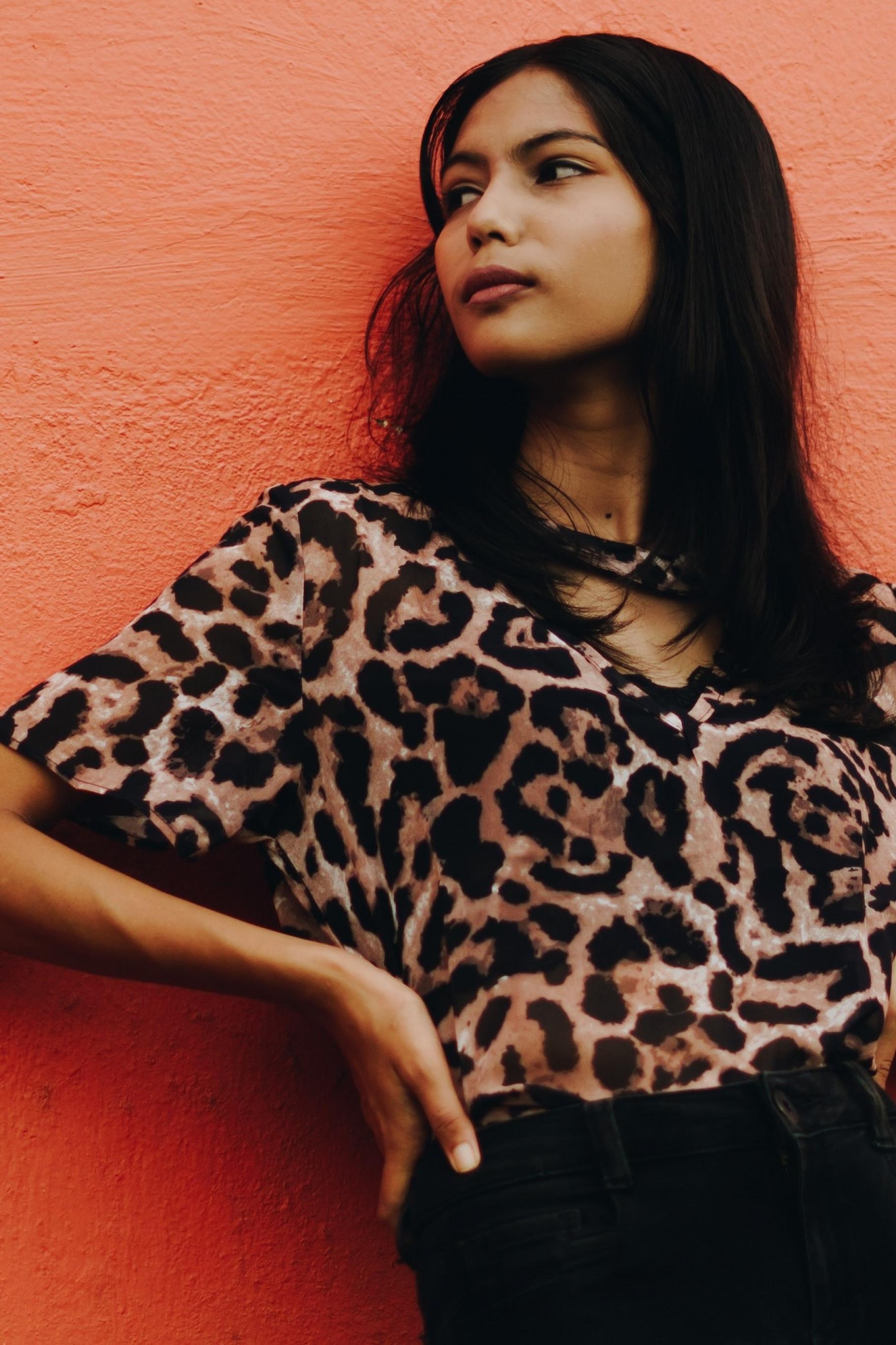 Leoparden-Print war im Trend in den 2000er Jahren
