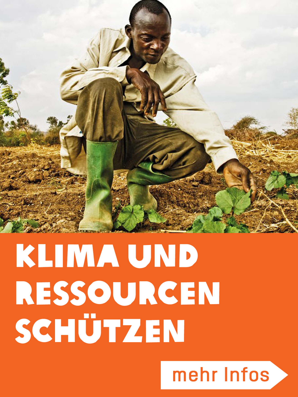 Klima und Ressourcen schützen