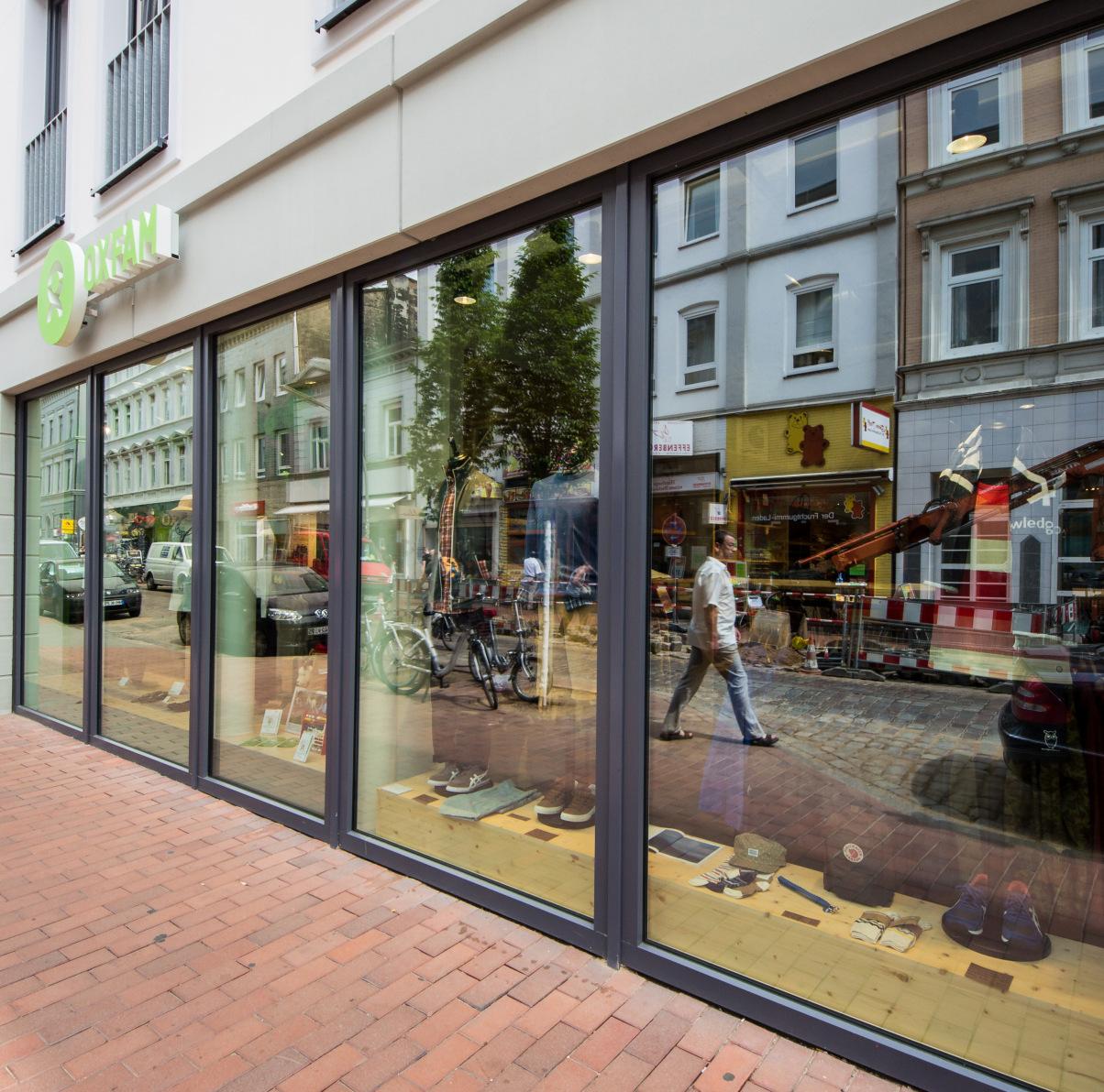 Oxfam Fashionshop Hamburg-Ottensen - Außenansicht