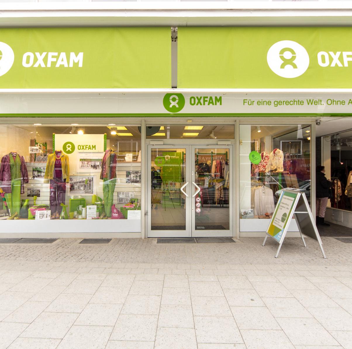 Oxfam Shop Hannover - Außenansicht