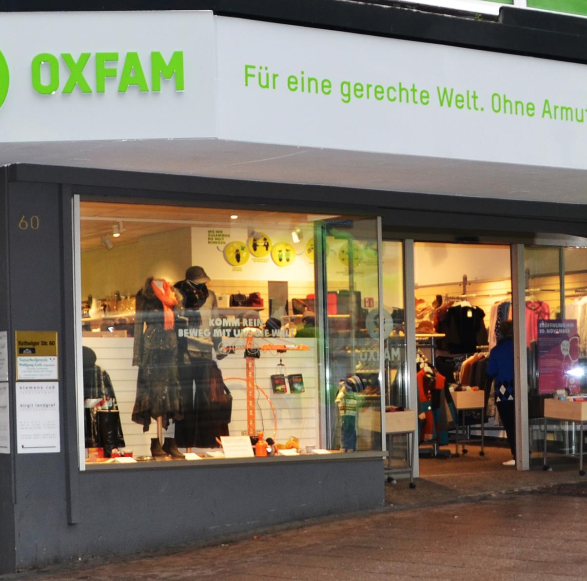 Oxfam Shop Essen - Außenansicht