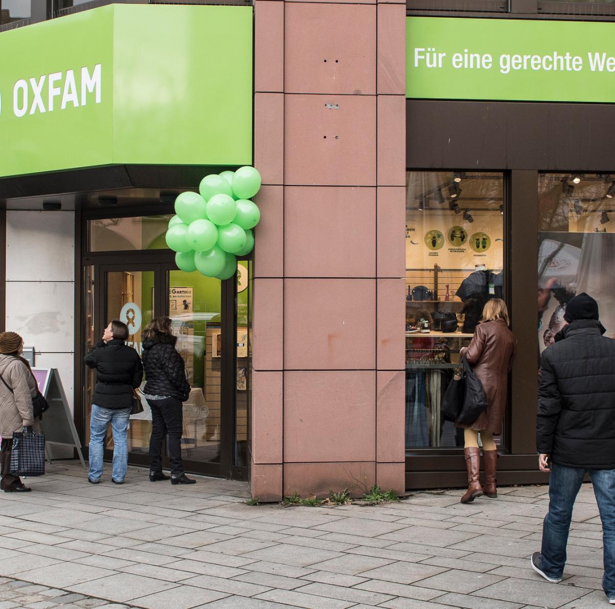 Oxfam Shop Nürnberg 2018 - Außenansicht