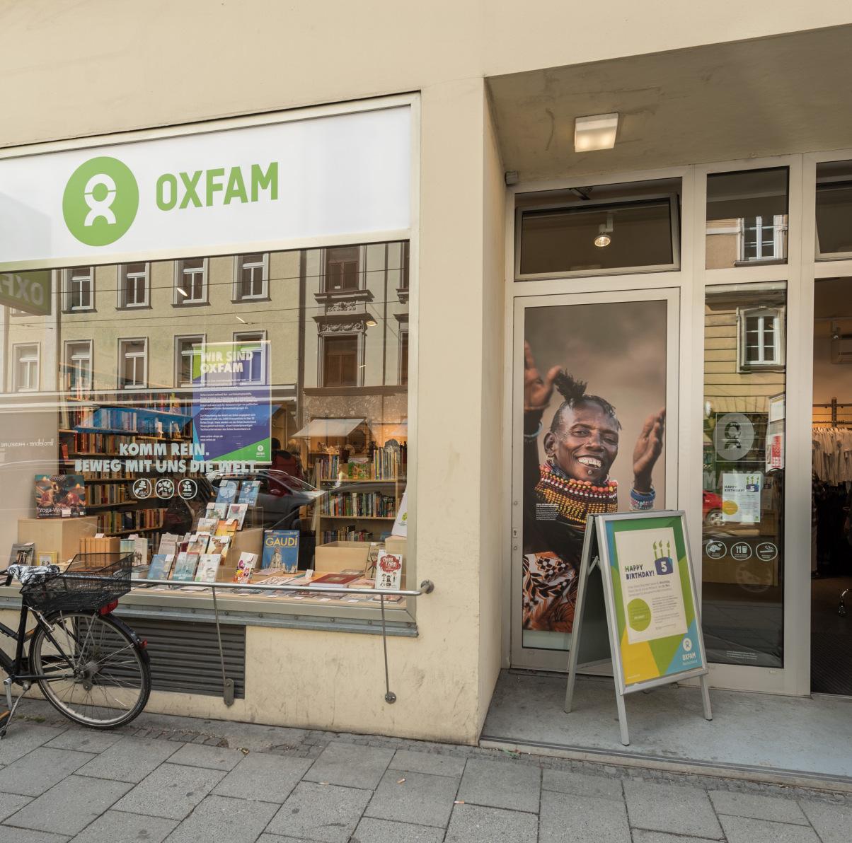 Oxfam Shop München-Isarvorstadt - Außenansicht