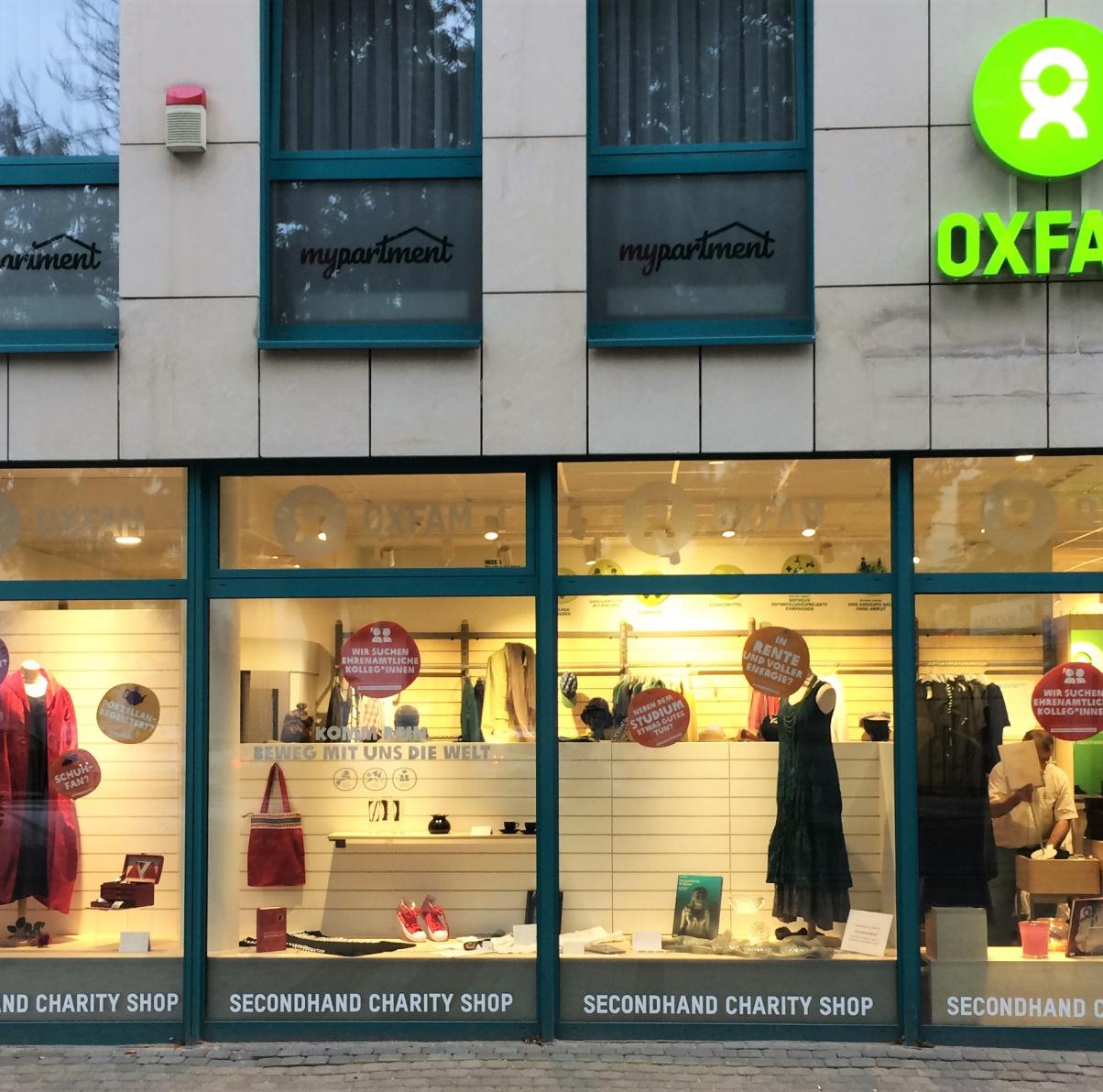 Oxfam Shop Köln-Neustadt - Außenaufnahme