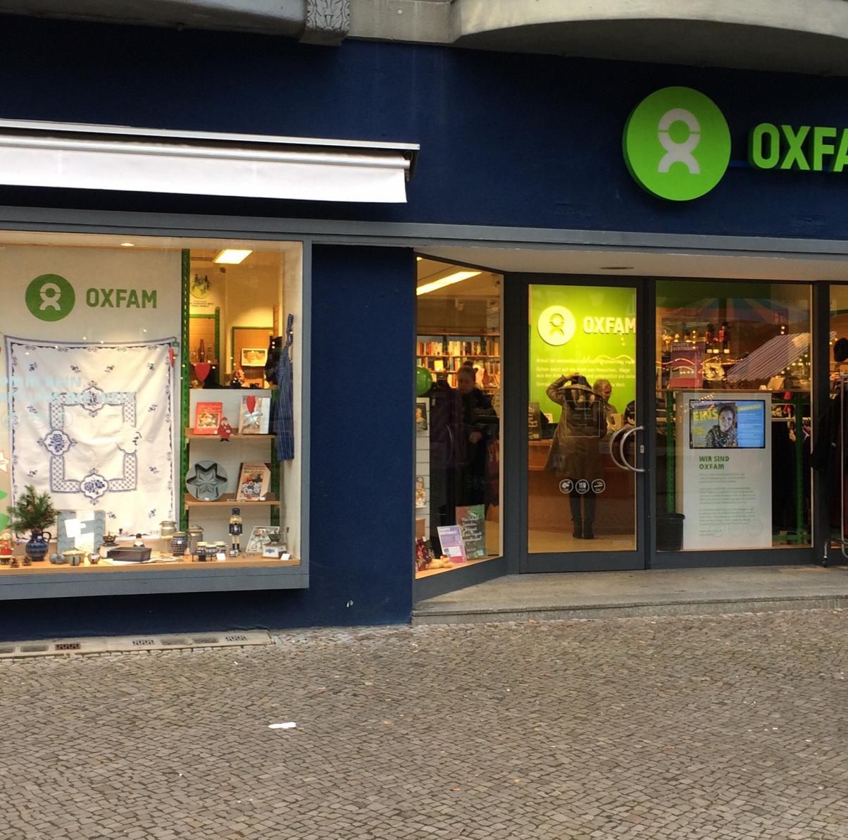 Oxfam Shop Berlin-Spandau - Außenansicht