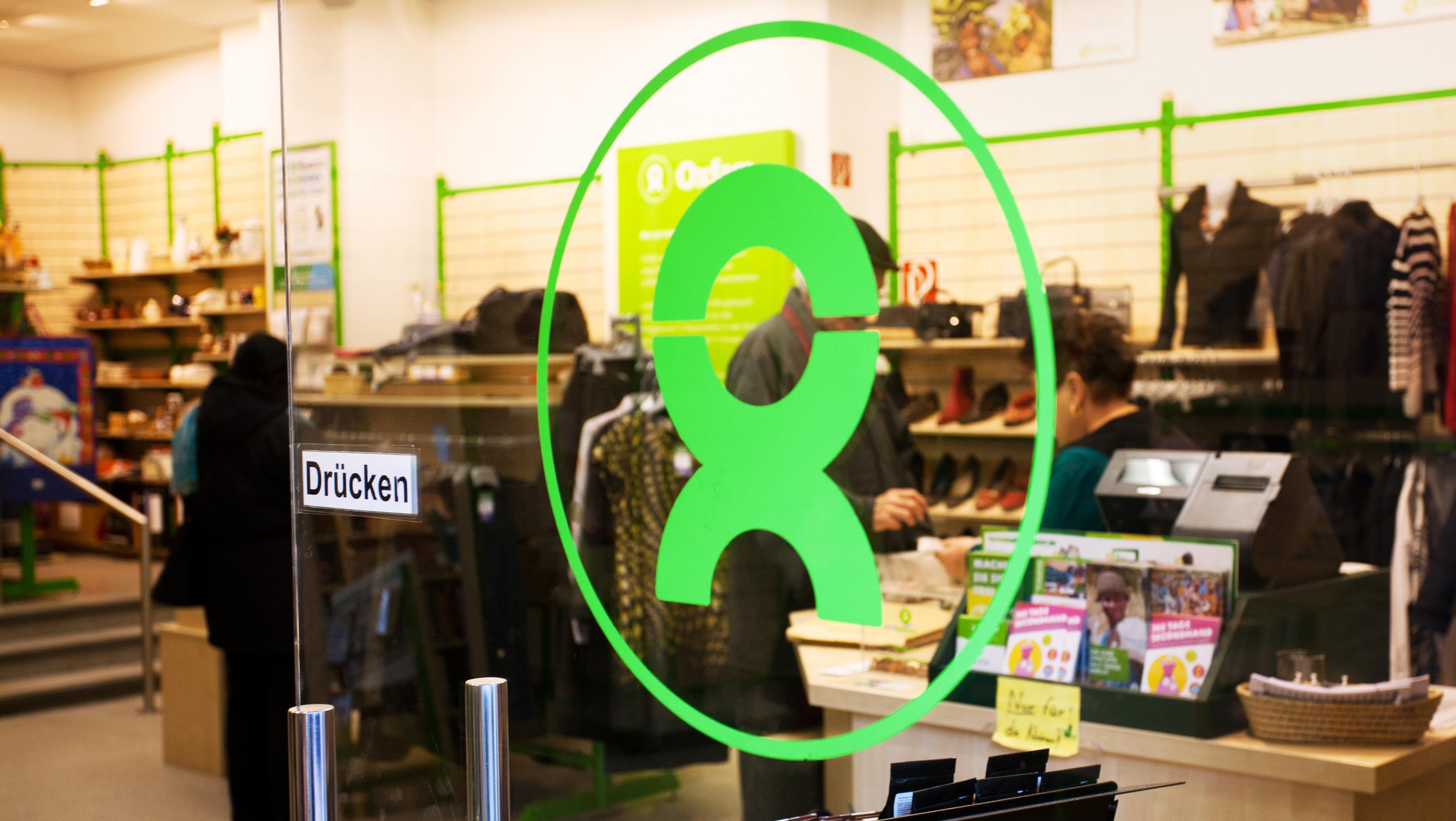 Oxfam Shop Berlin-Schöneberg - Eingang
