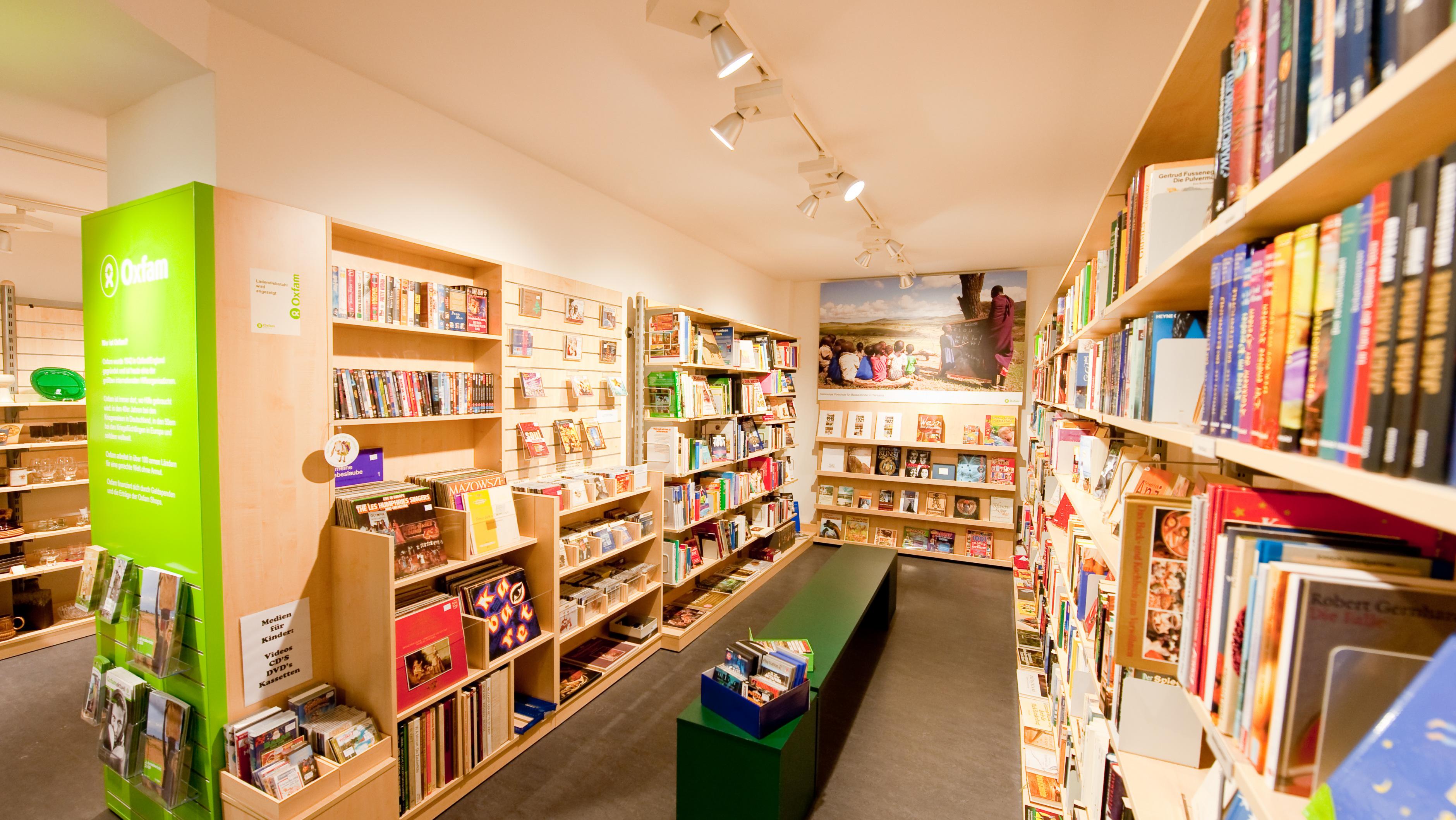 Oxfam Shop Göttingen - Innenansicht