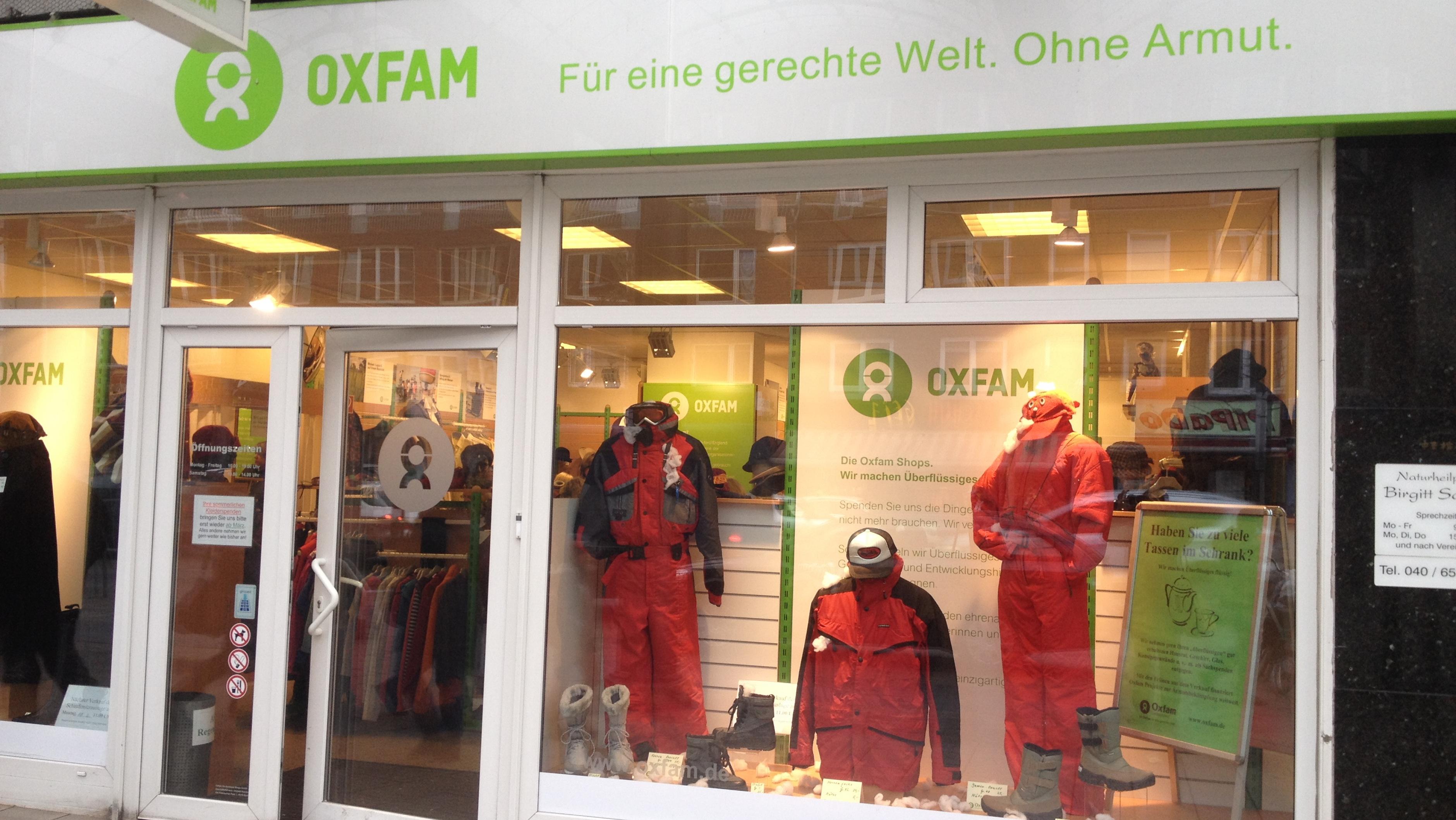 Oxfam Shop Hamburg-Wandsbek – Außenansicht