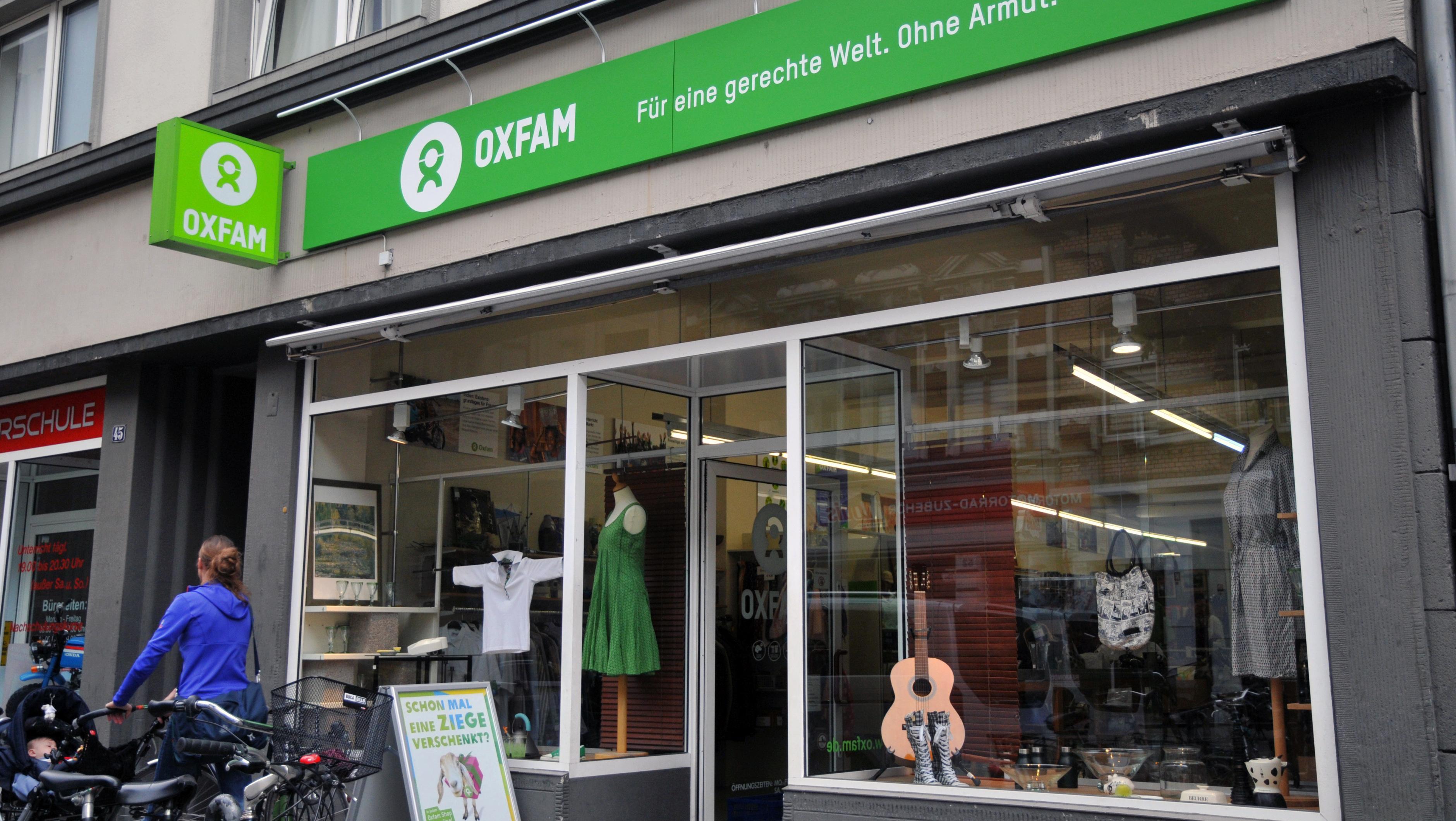 Oxfam Shop Köln-Südstadt - Außenansicht